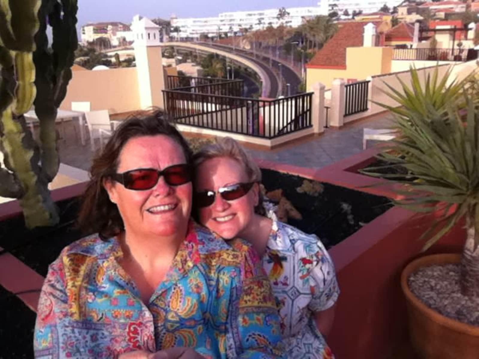 Helen & Janice from Dublin, Ireland