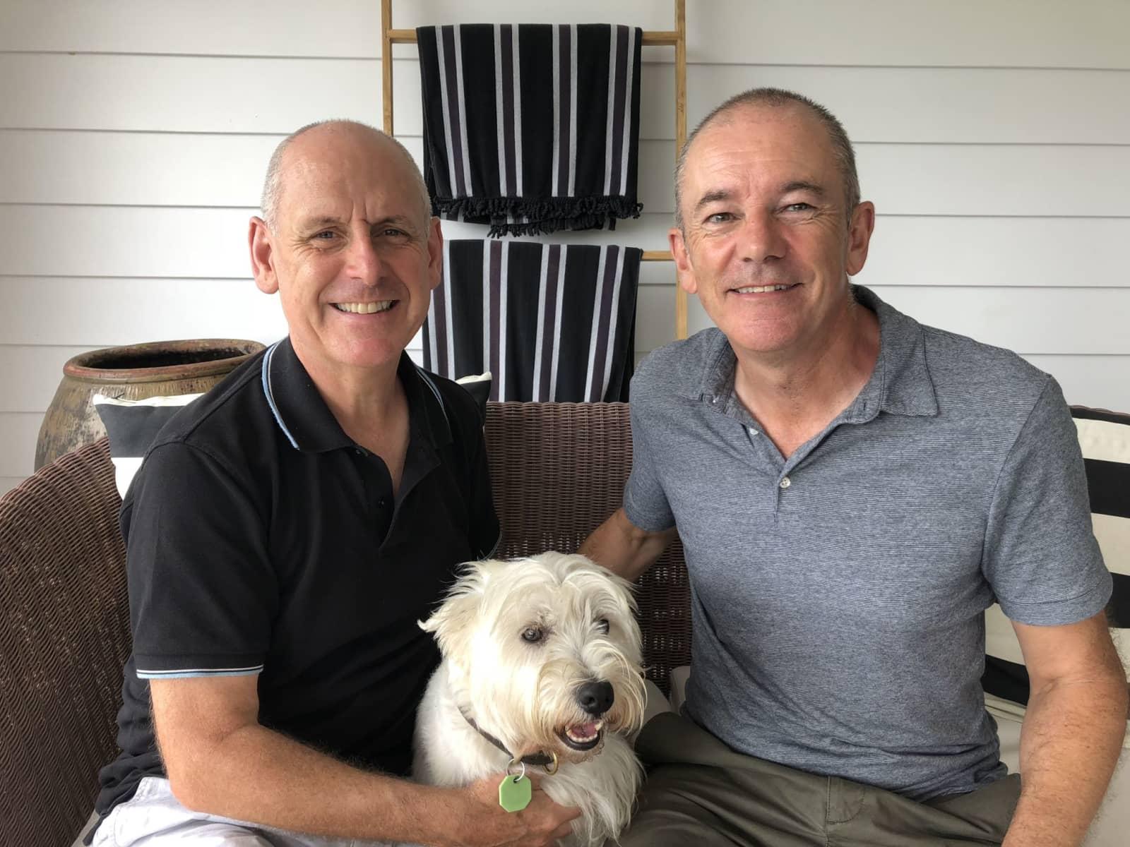 Ian & Lloyd from Sydney, New South Wales, Australia
