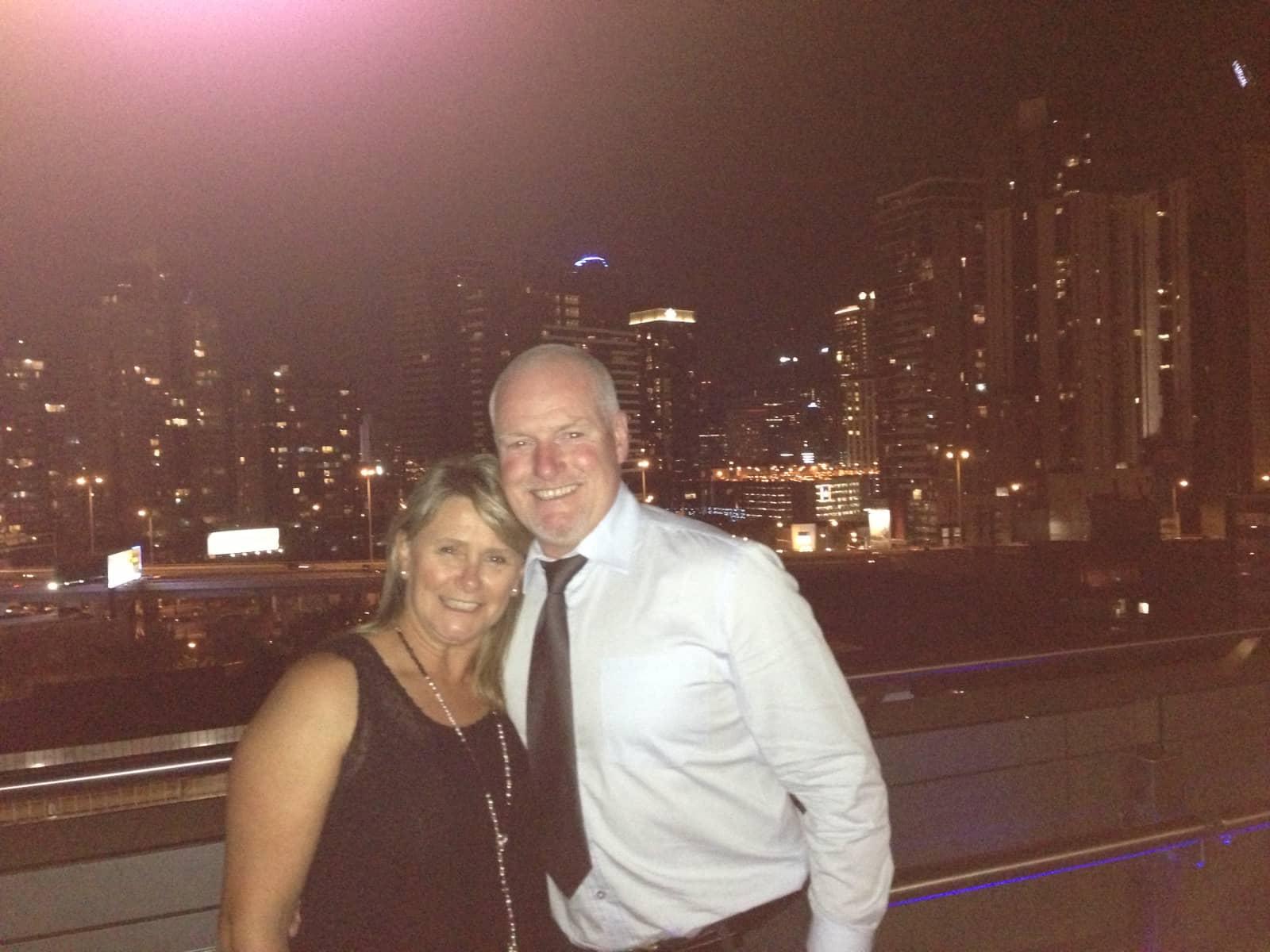 Ann & Andrew from Melbourne, Victoria, Australia