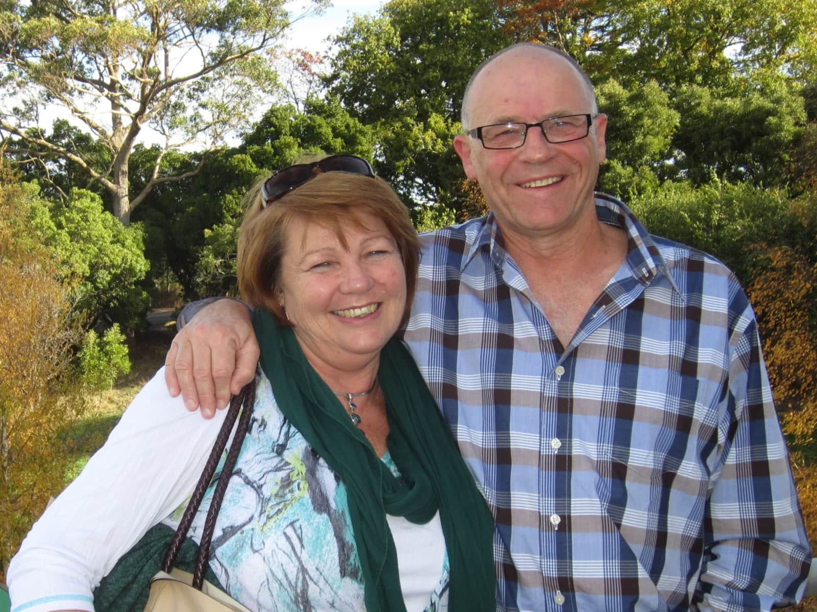 Vicki & Rick from Hobart, Tasmania, Australia