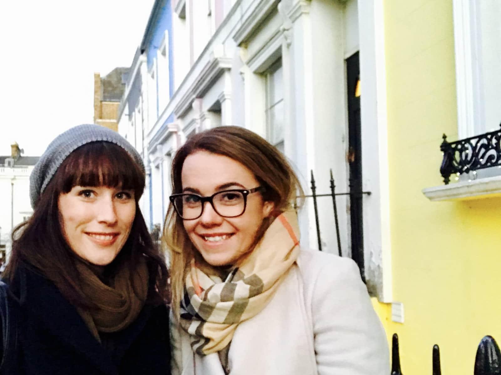 Lillian & Naomi from London, United Kingdom