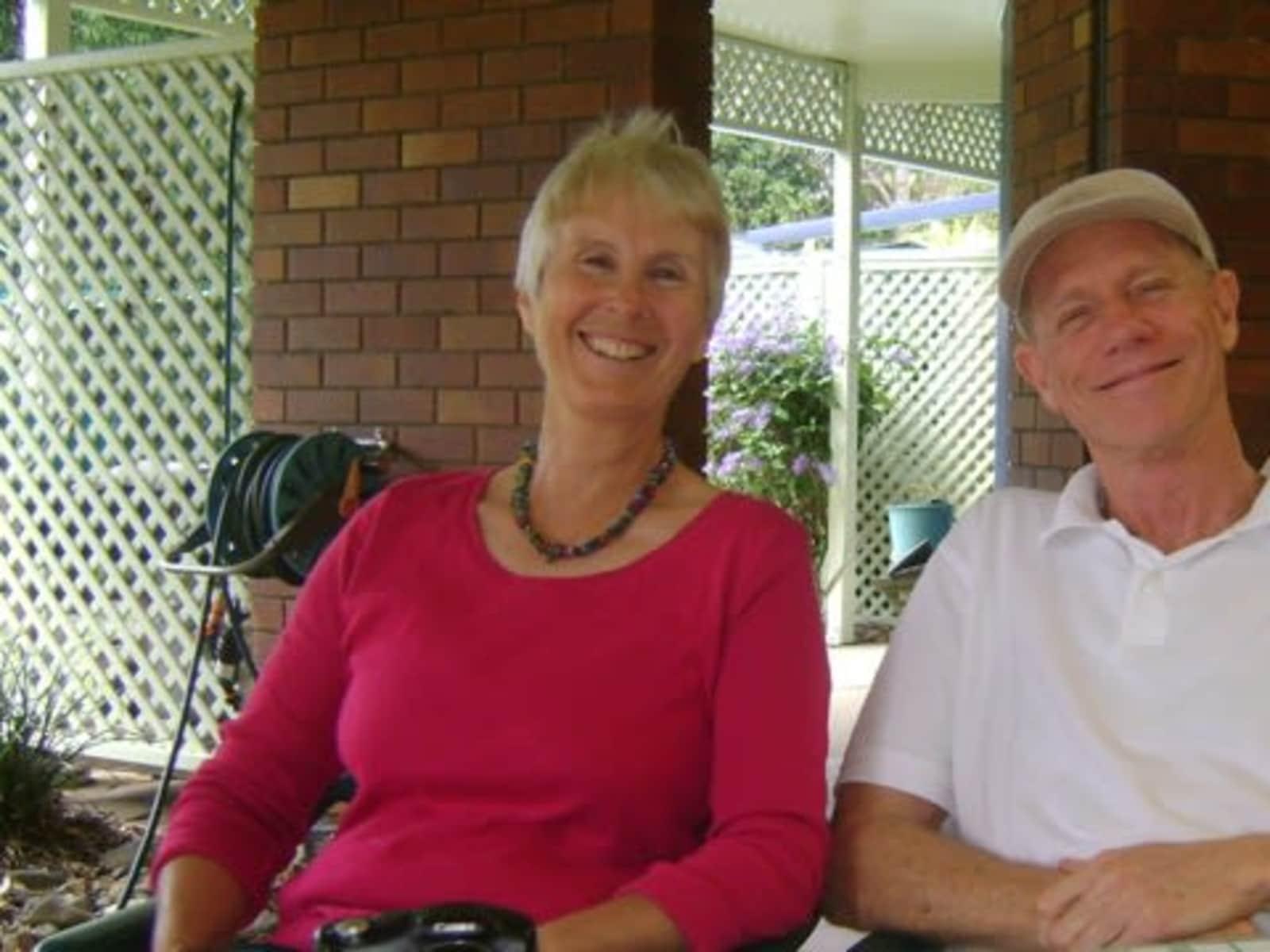 Alison & Ian from Brisbane, Queensland, Australia