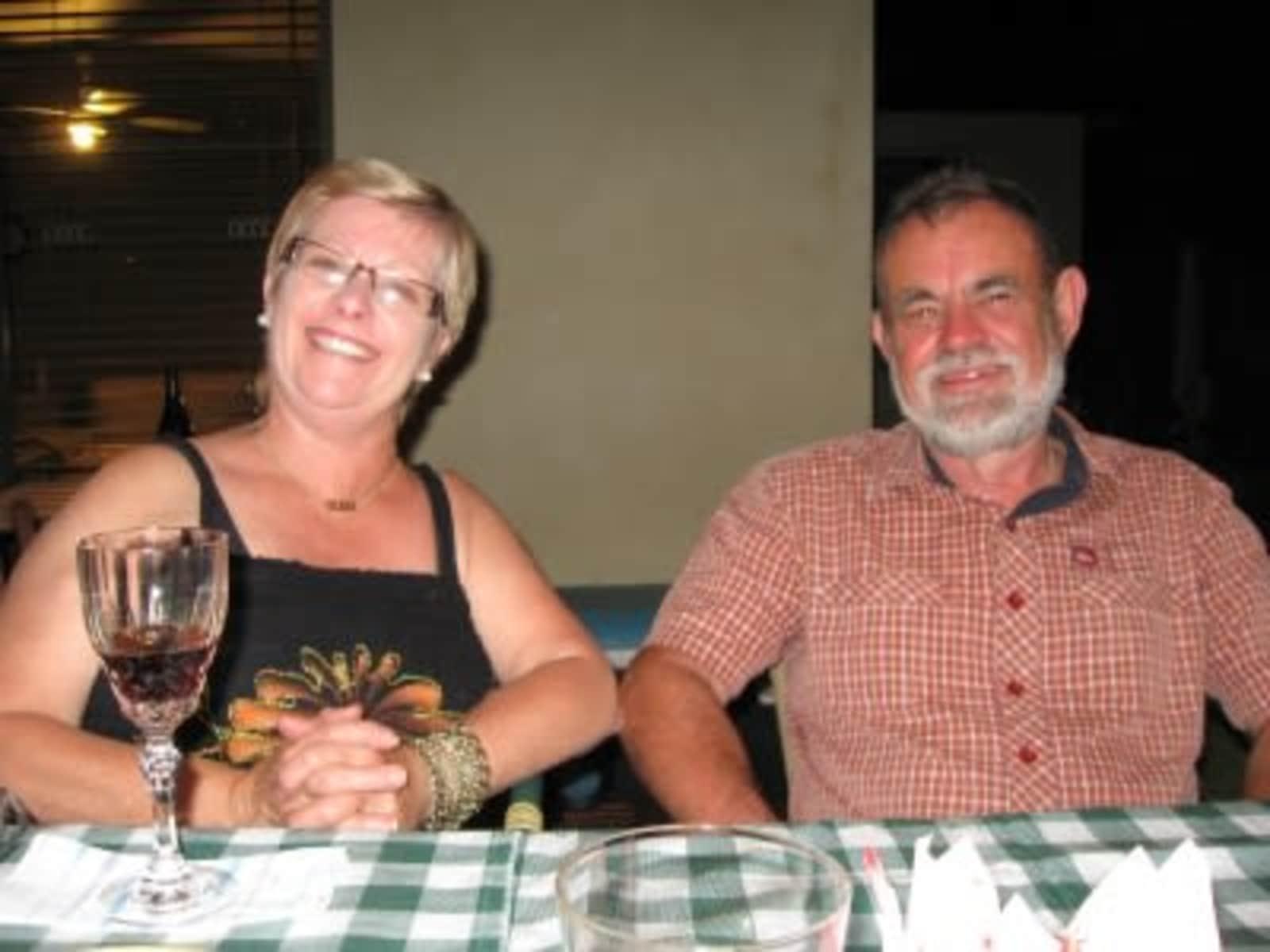 Glenda & Terry from Margaret River, Western Australia, Australia