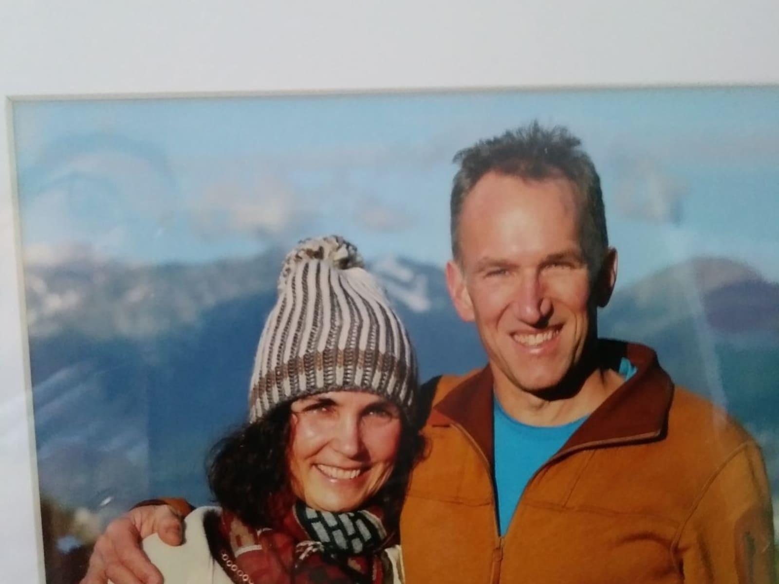 Leslie & John from Whitehorse, Yukon, Canada