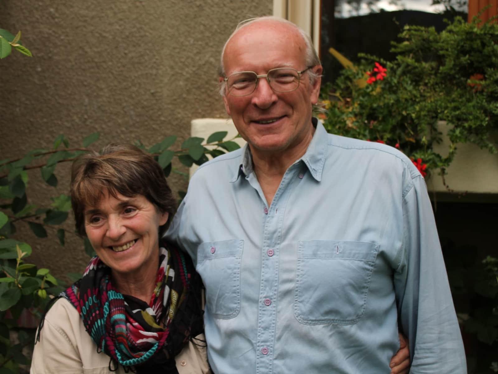 Helga & John from Foix, France