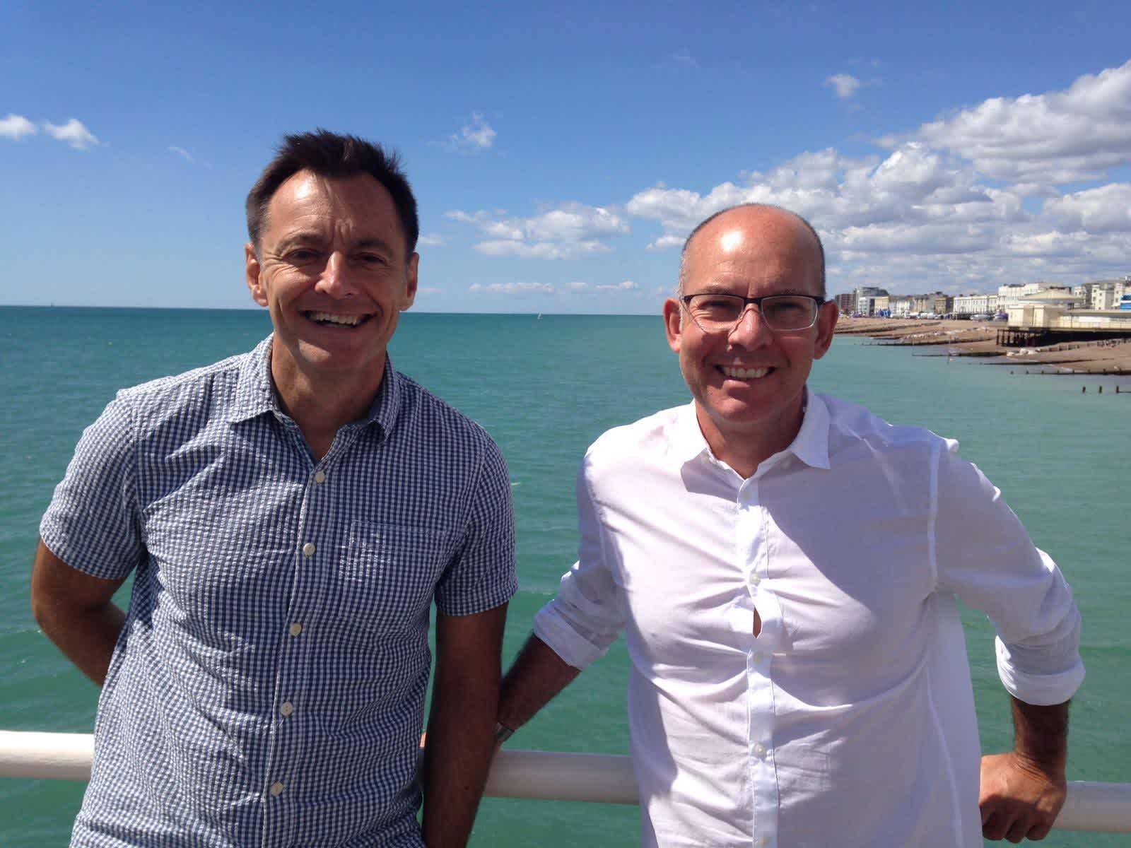Tim & Alan from Hove, United Kingdom