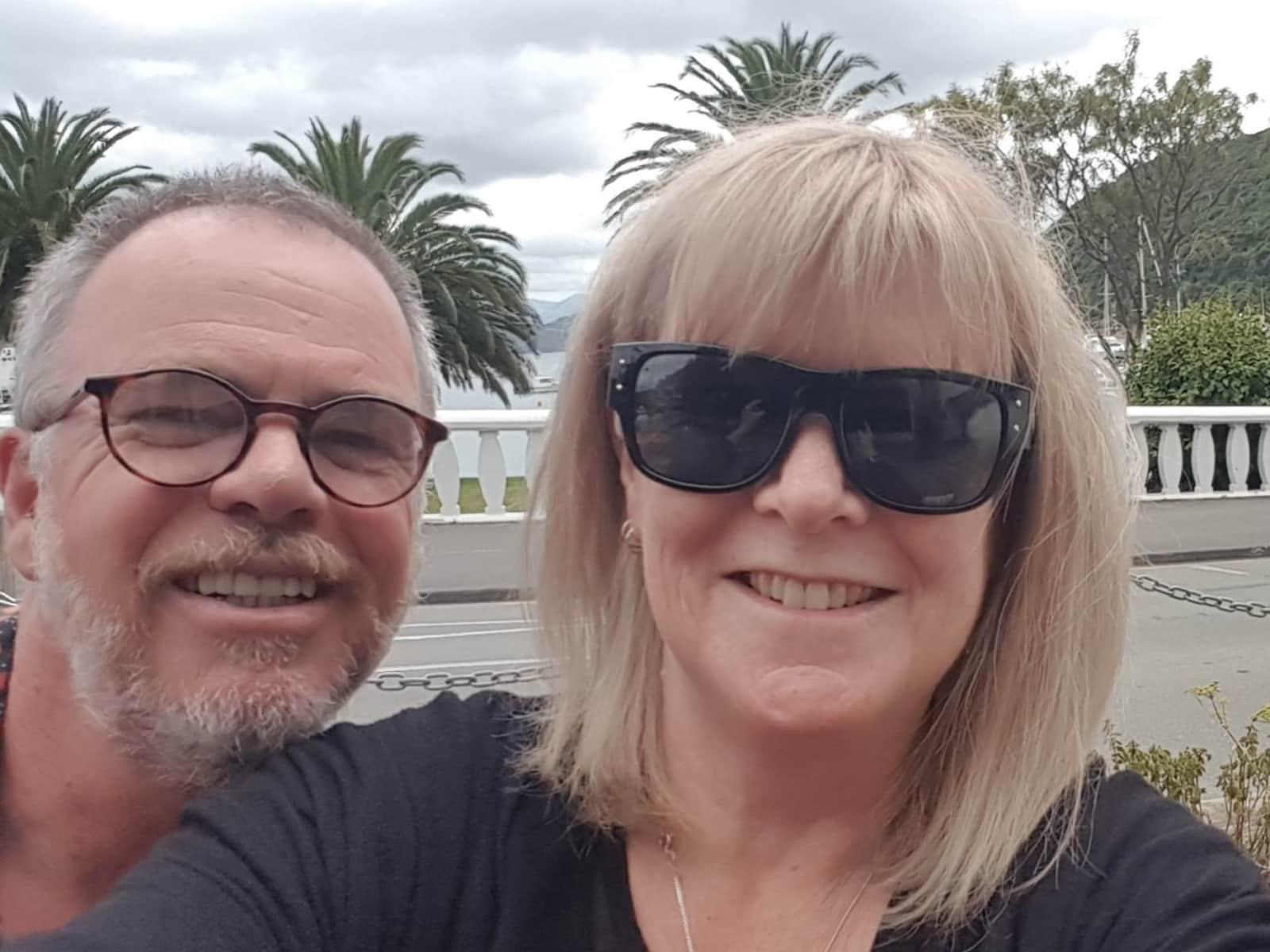 Beverley & Bruce from Dunedin, New Zealand