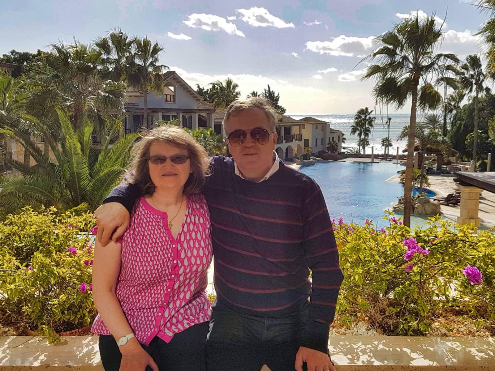 Brendan & Jane from Shrewsbury, United Kingdom