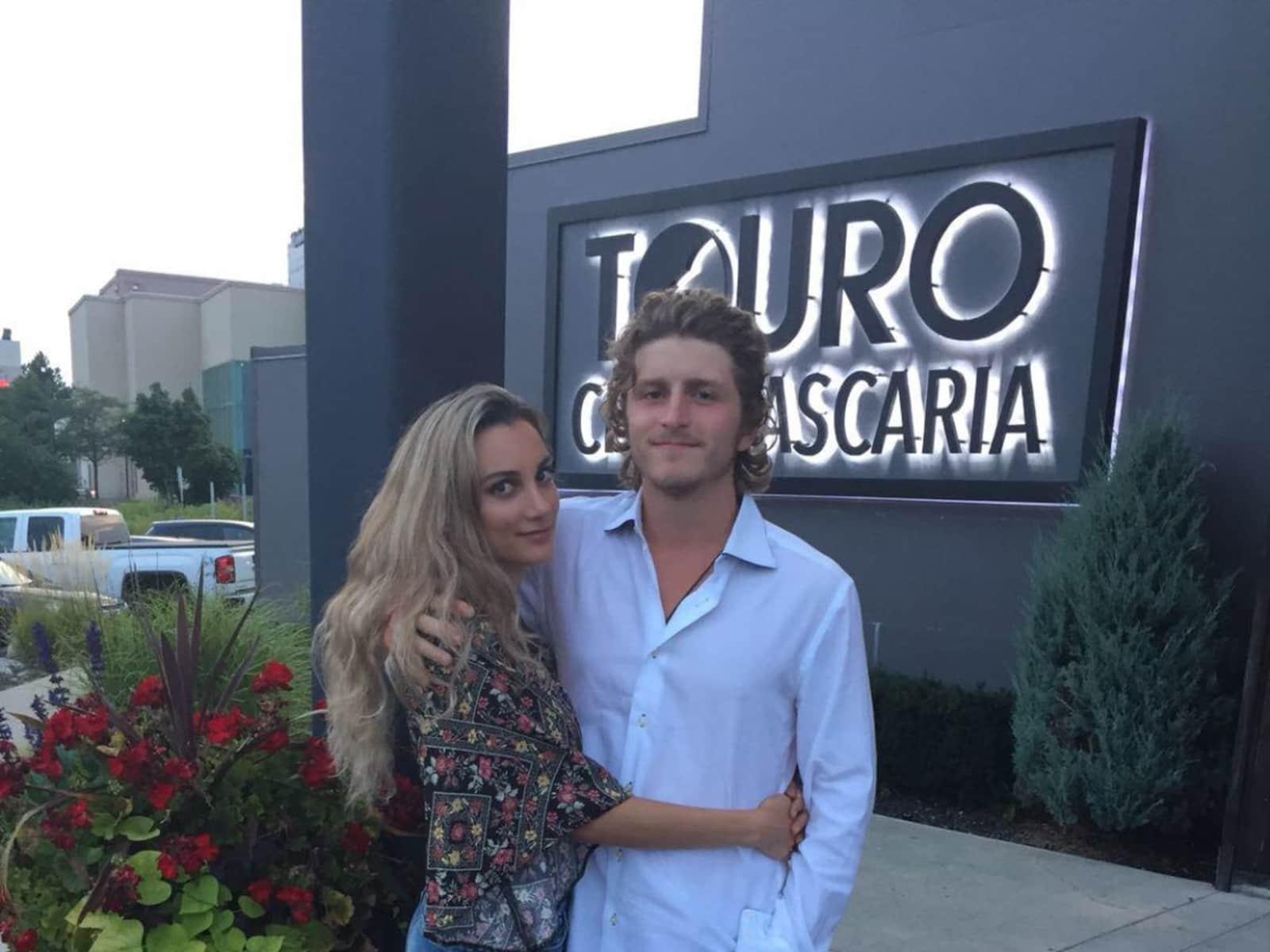 Nolan & Tania from Kingston, Ontario, Canada