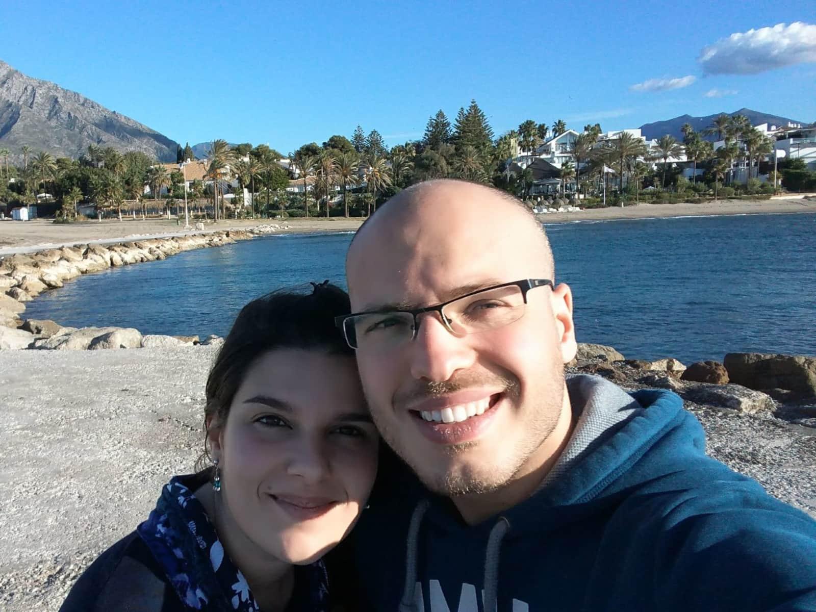 Fabio & Ombretta from Montejaque, Spain