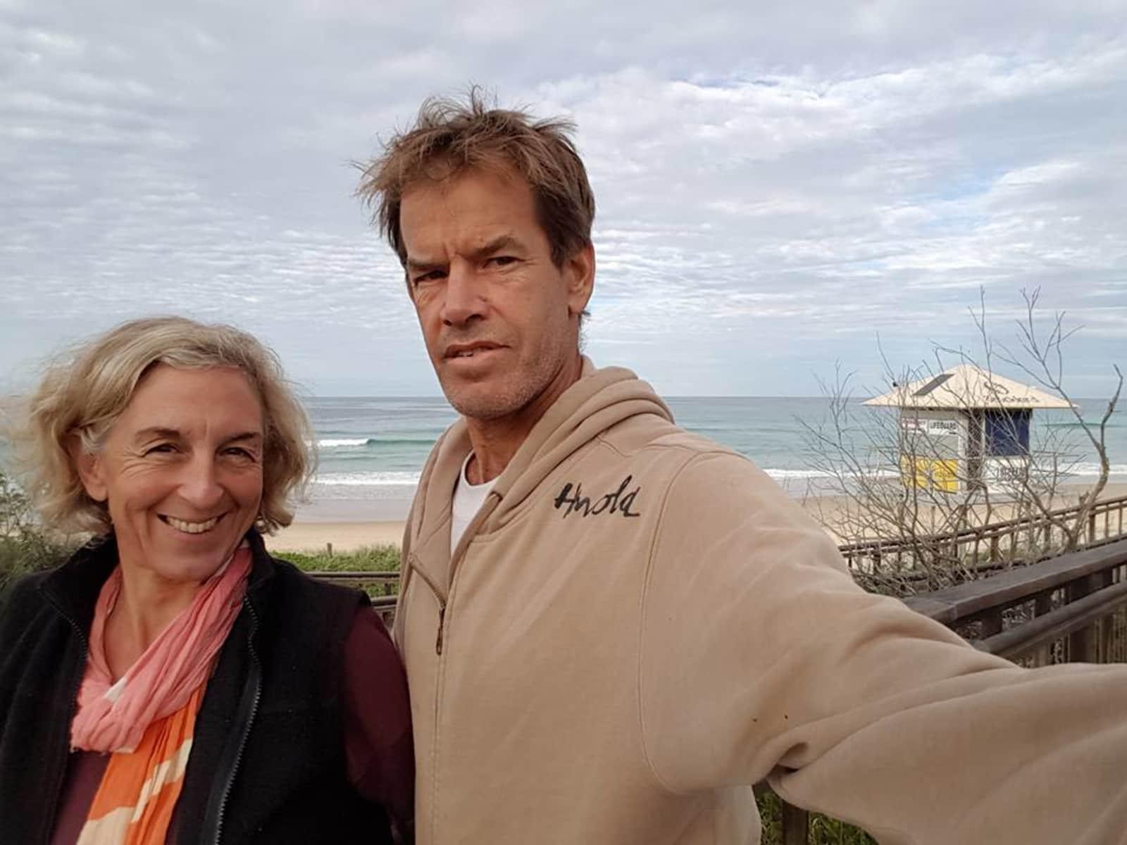 Catherine & Phil from Coolum Beach, Queensland, Australia