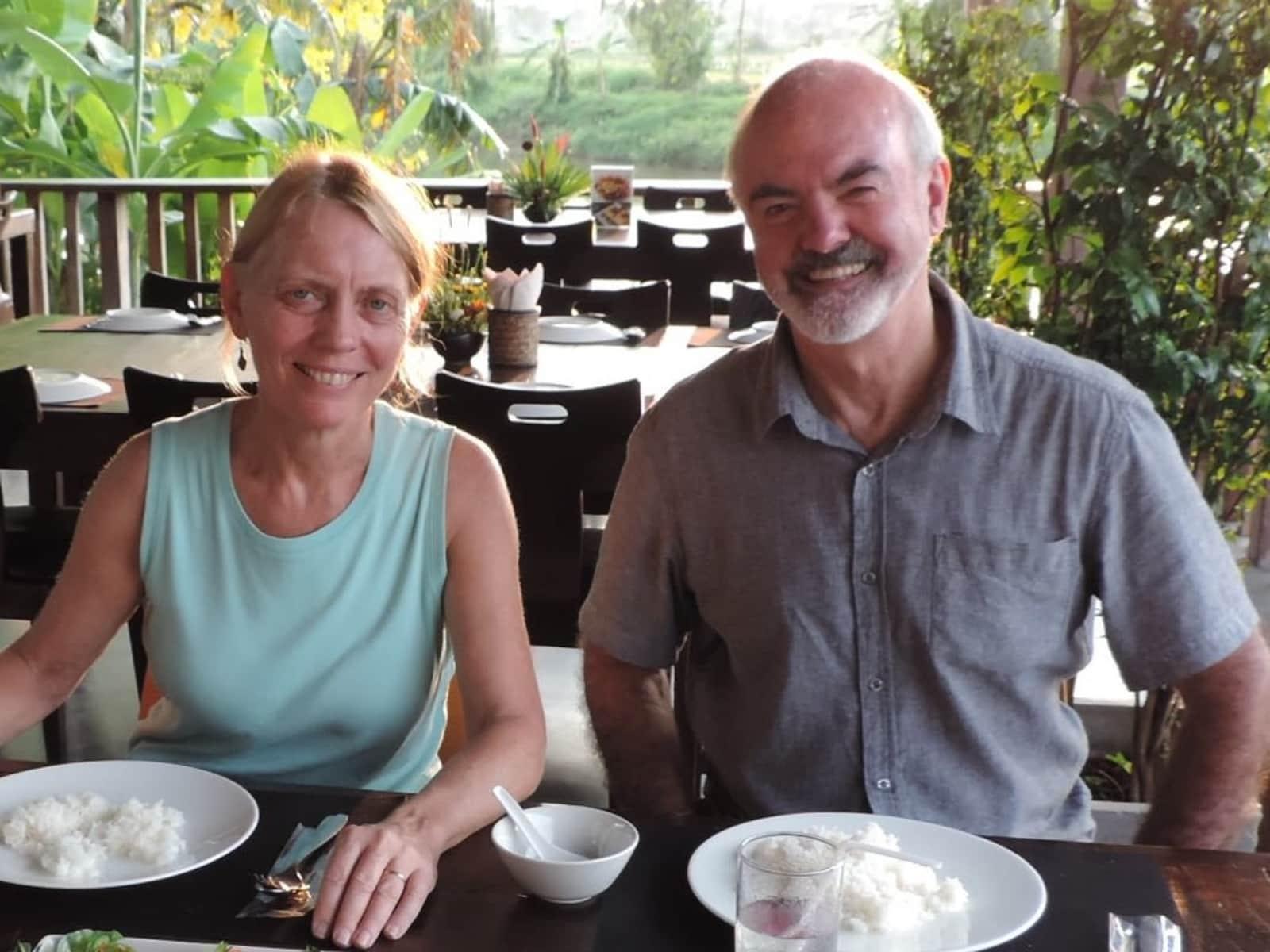 Damian & Lynne from Sydney, New South Wales, Australia