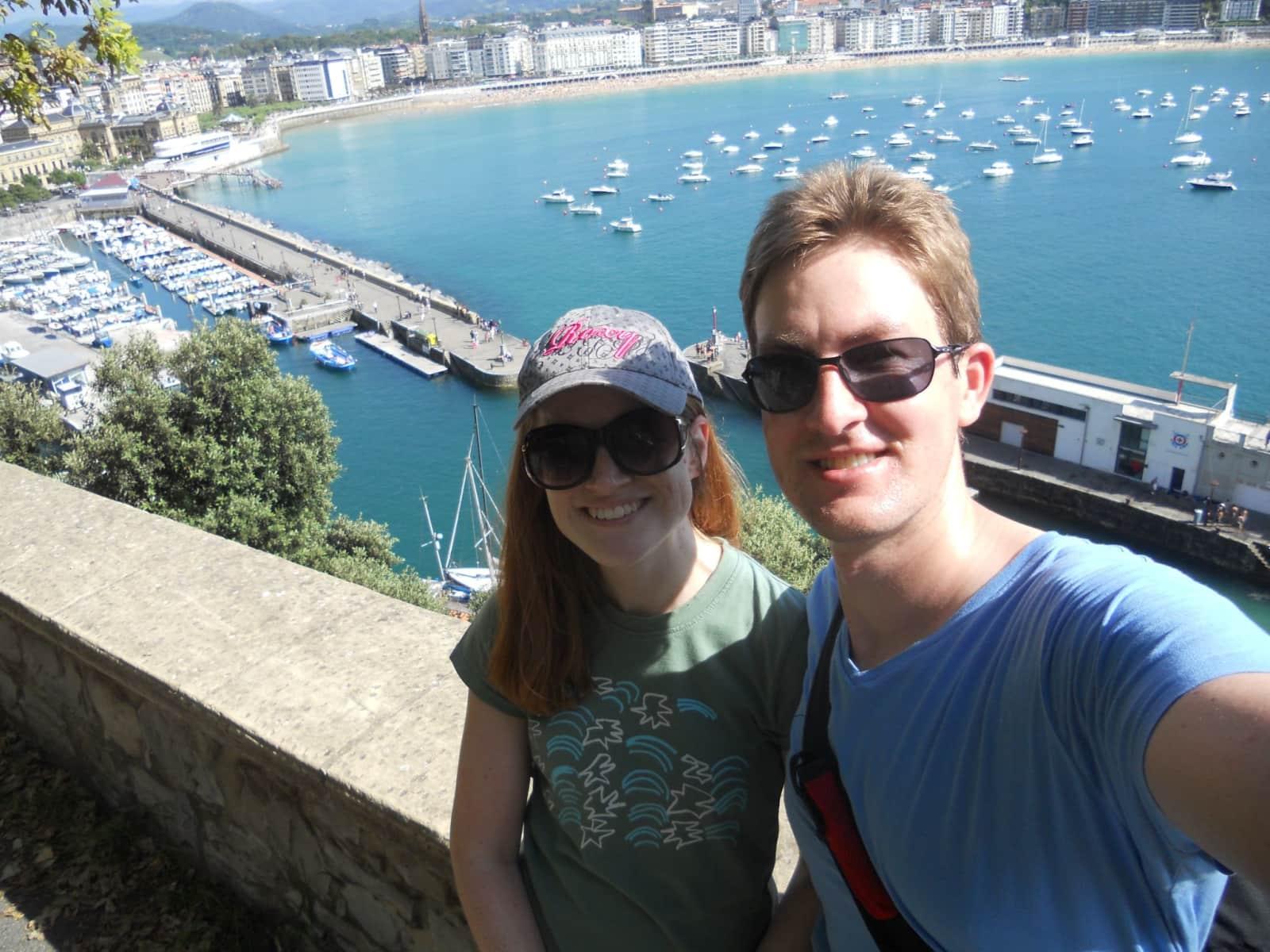 Annie & Garth from Guildford, United Kingdom