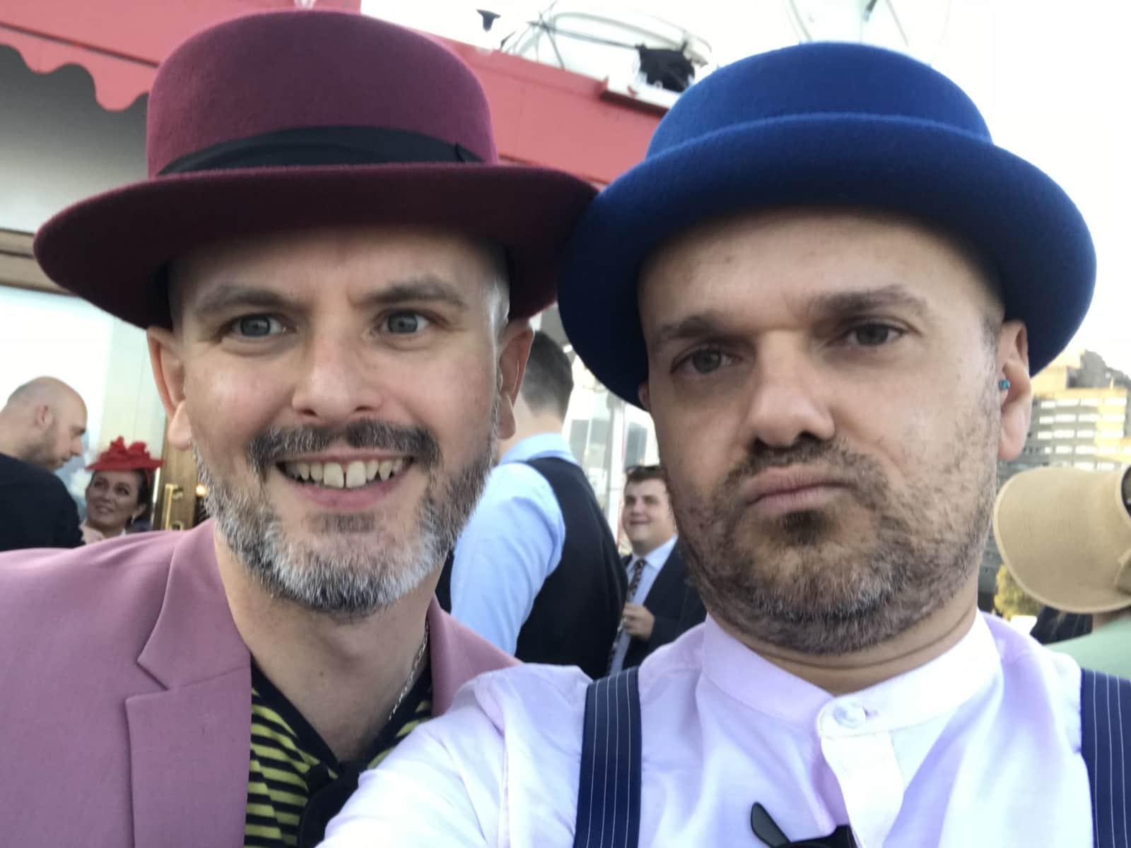 Fernando & Tony from Tottenham, United Kingdom
