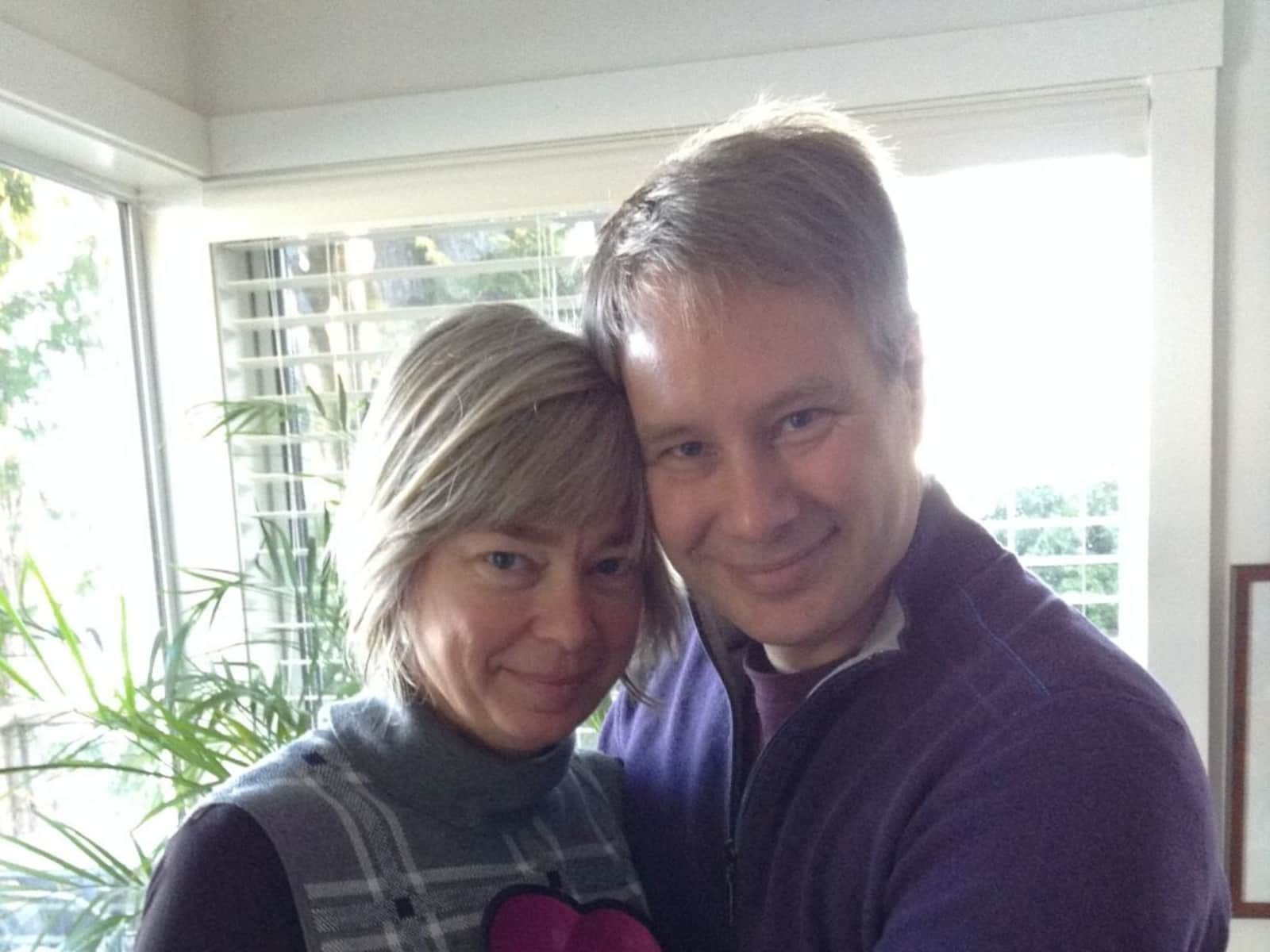 Cathie & Brad from Victoria, British Columbia, Canada