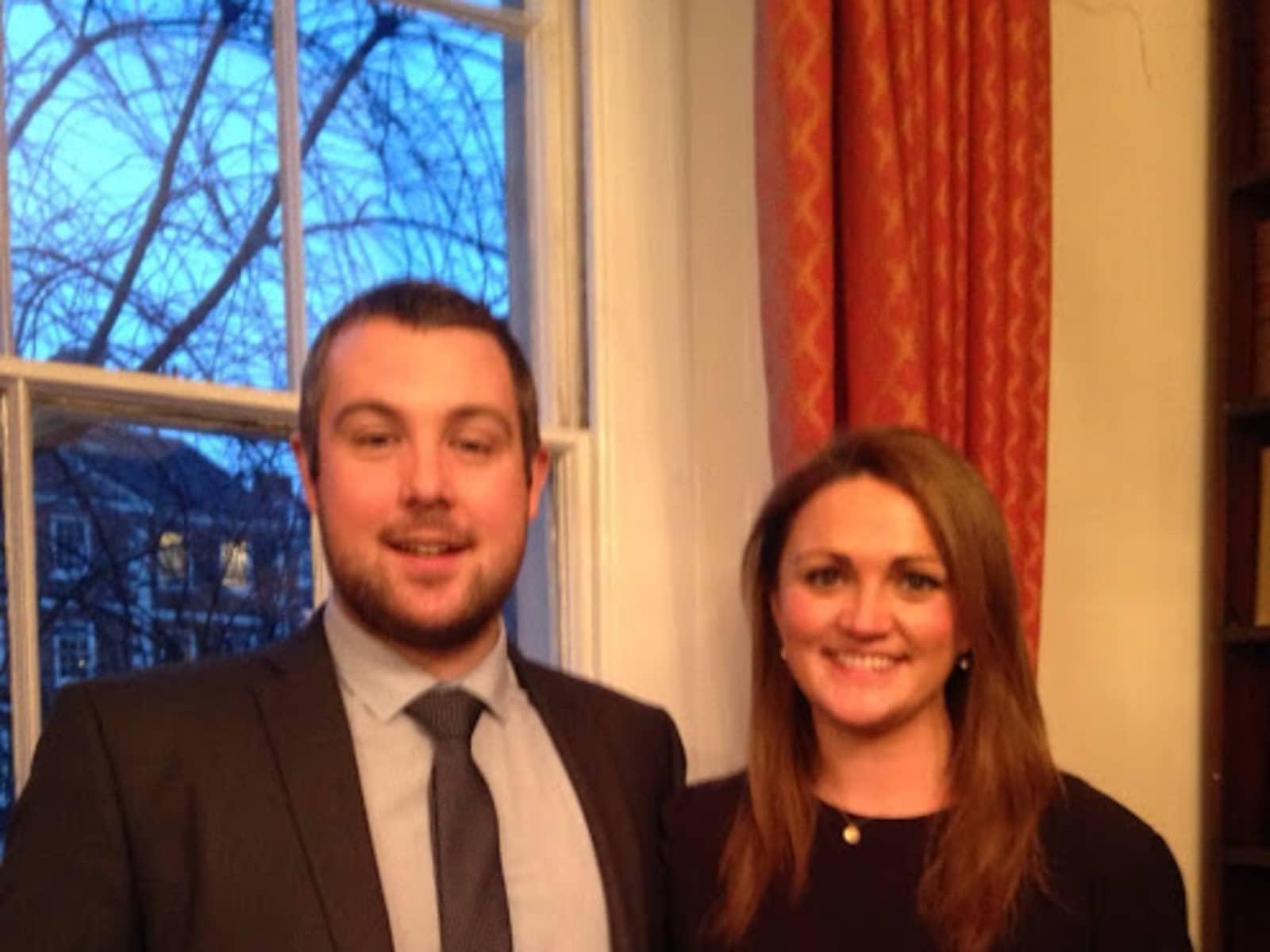 Brendan & Laura from London, United Kingdom