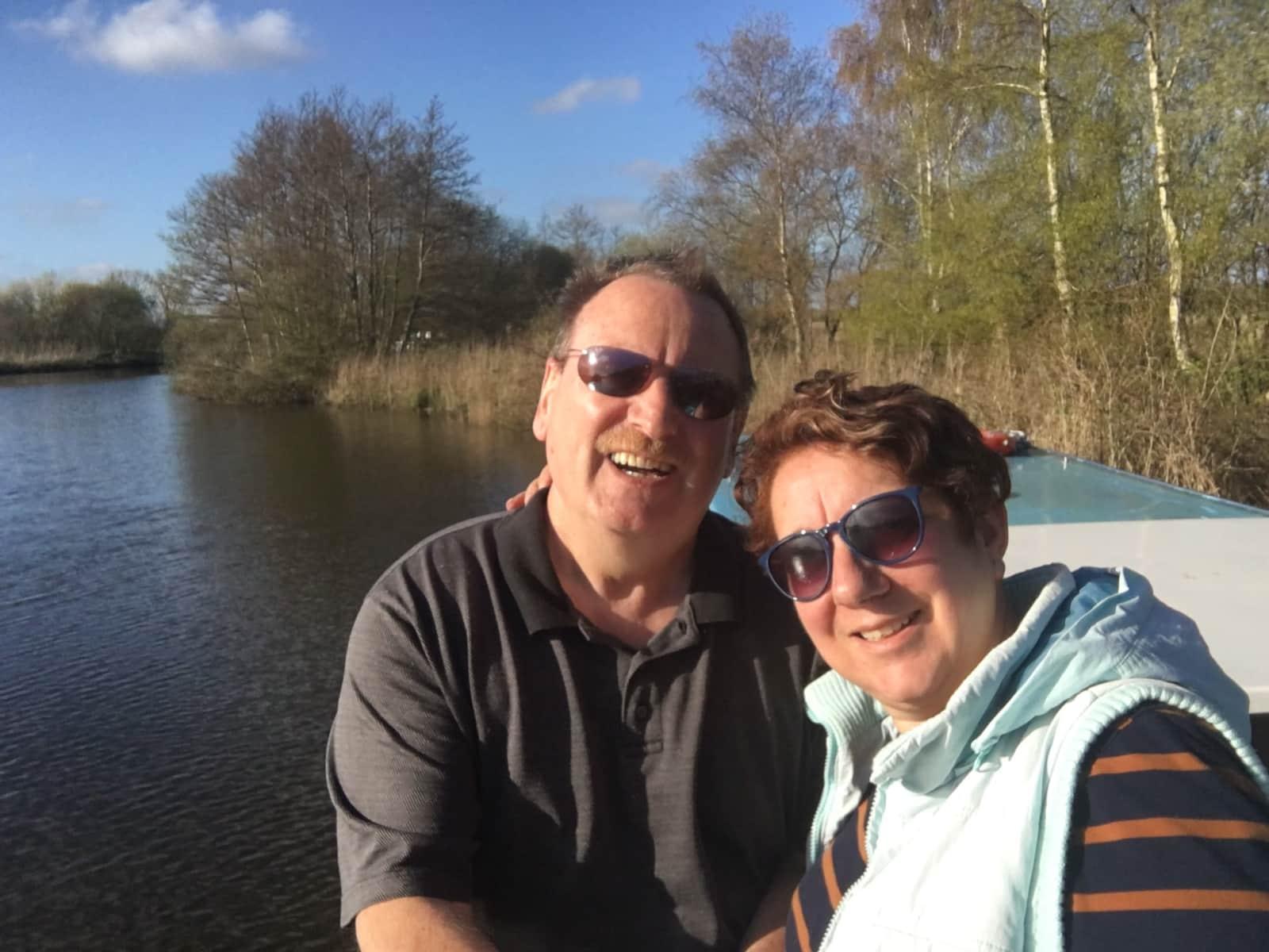 June & Mark from Southampton, United Kingdom