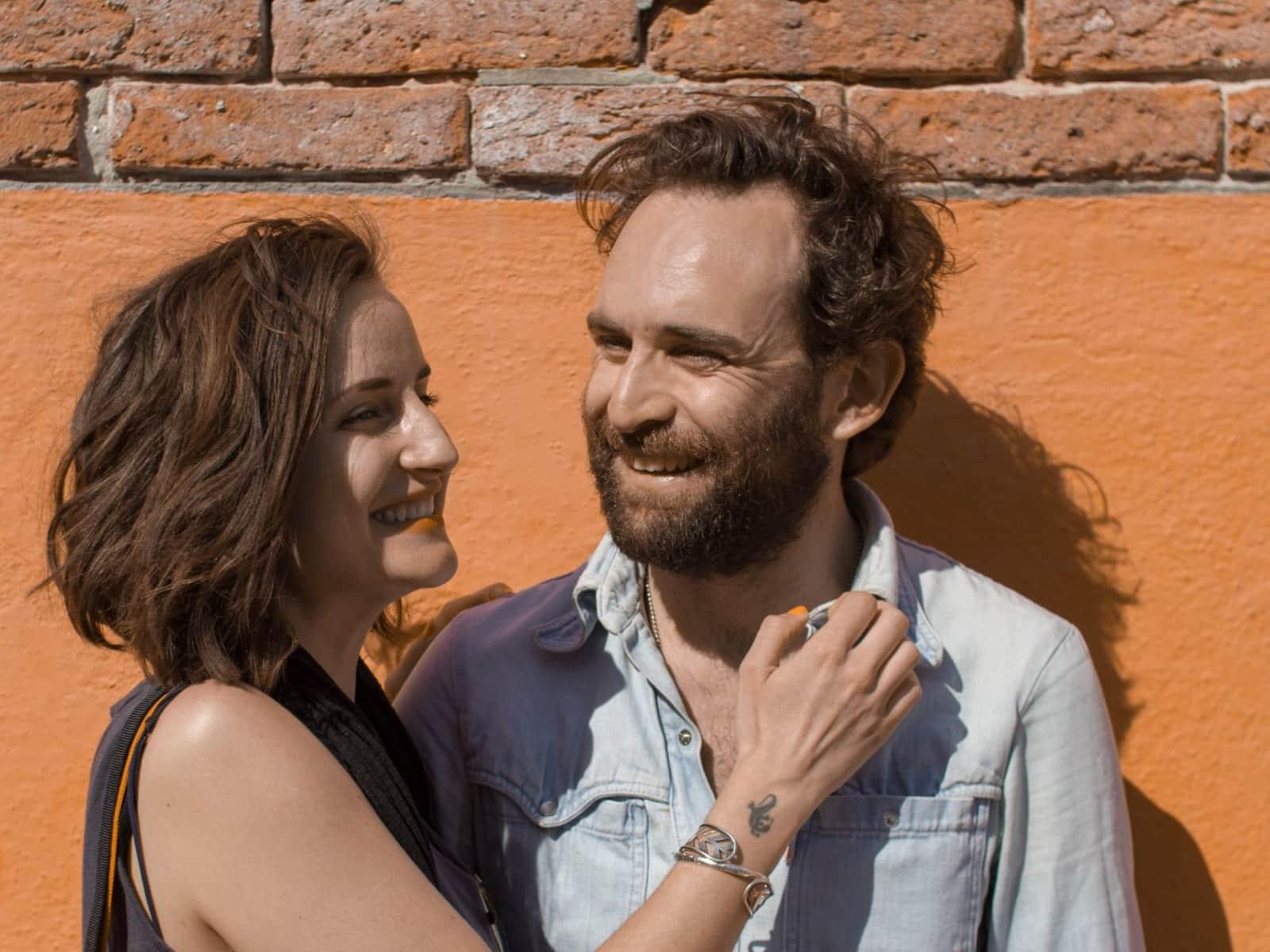 Angus & Chiara from Wellington, New Zealand