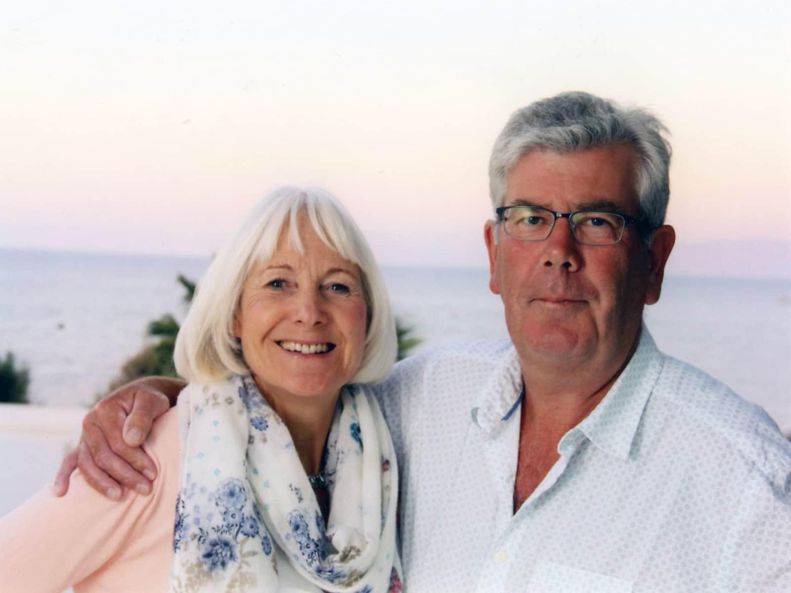 Sandra & Richard from Wells, United Kingdom