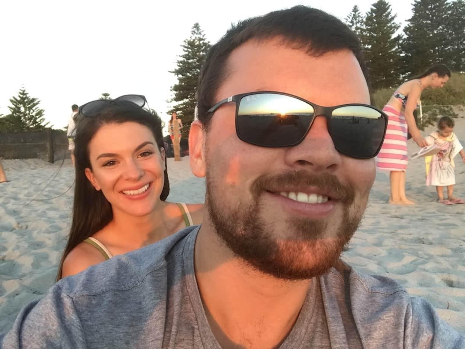 Tammy & Sam from Perth, Western Australia, Australia