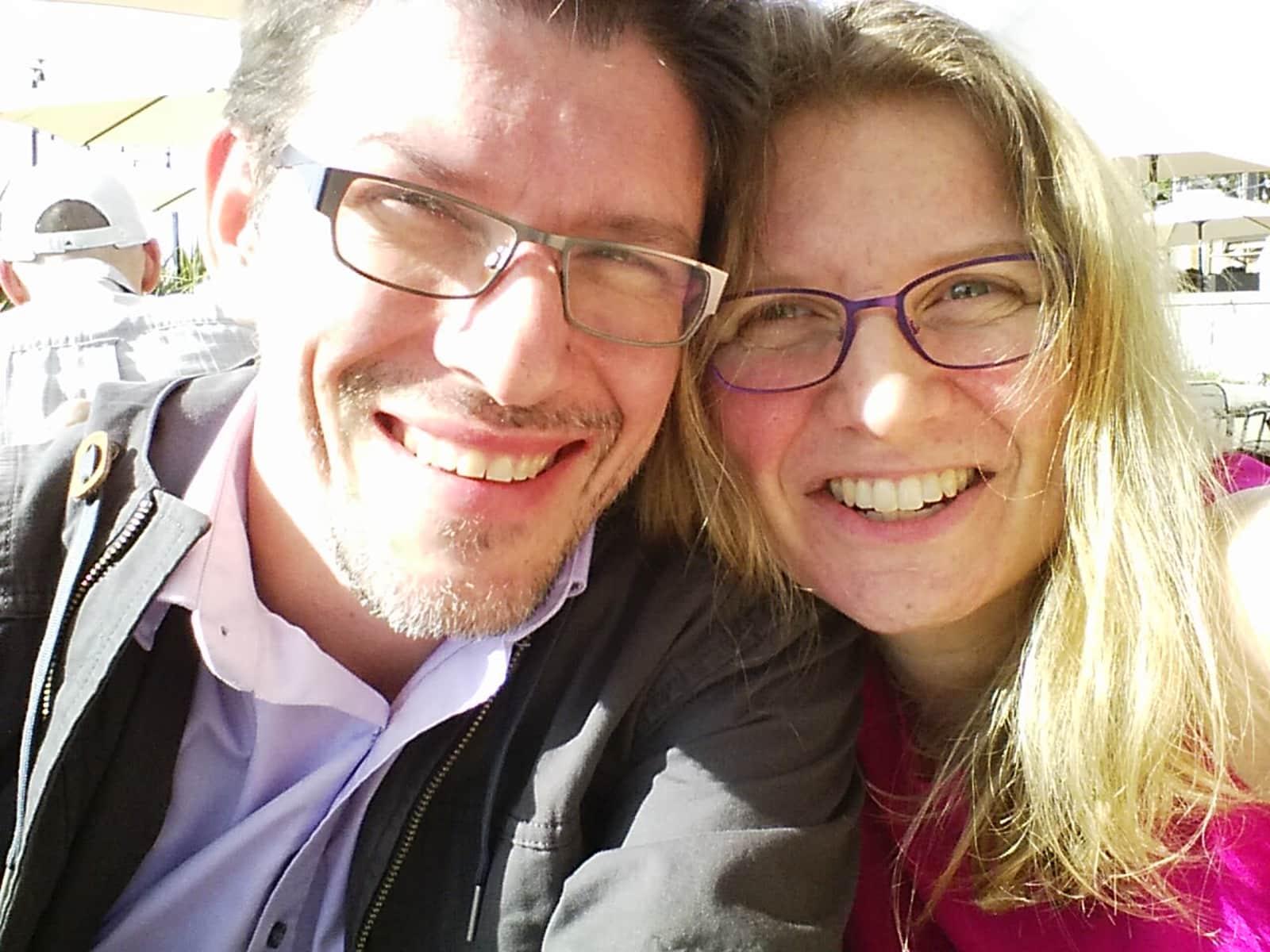Dora & Jeremy from Victoria, British Columbia, Canada