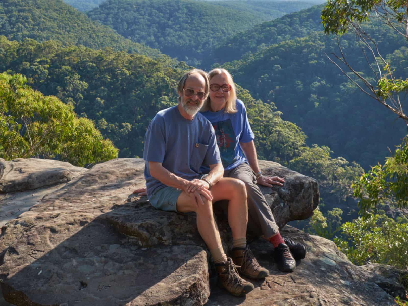 Jan & Ian from Springwood, New South Wales, Australia
