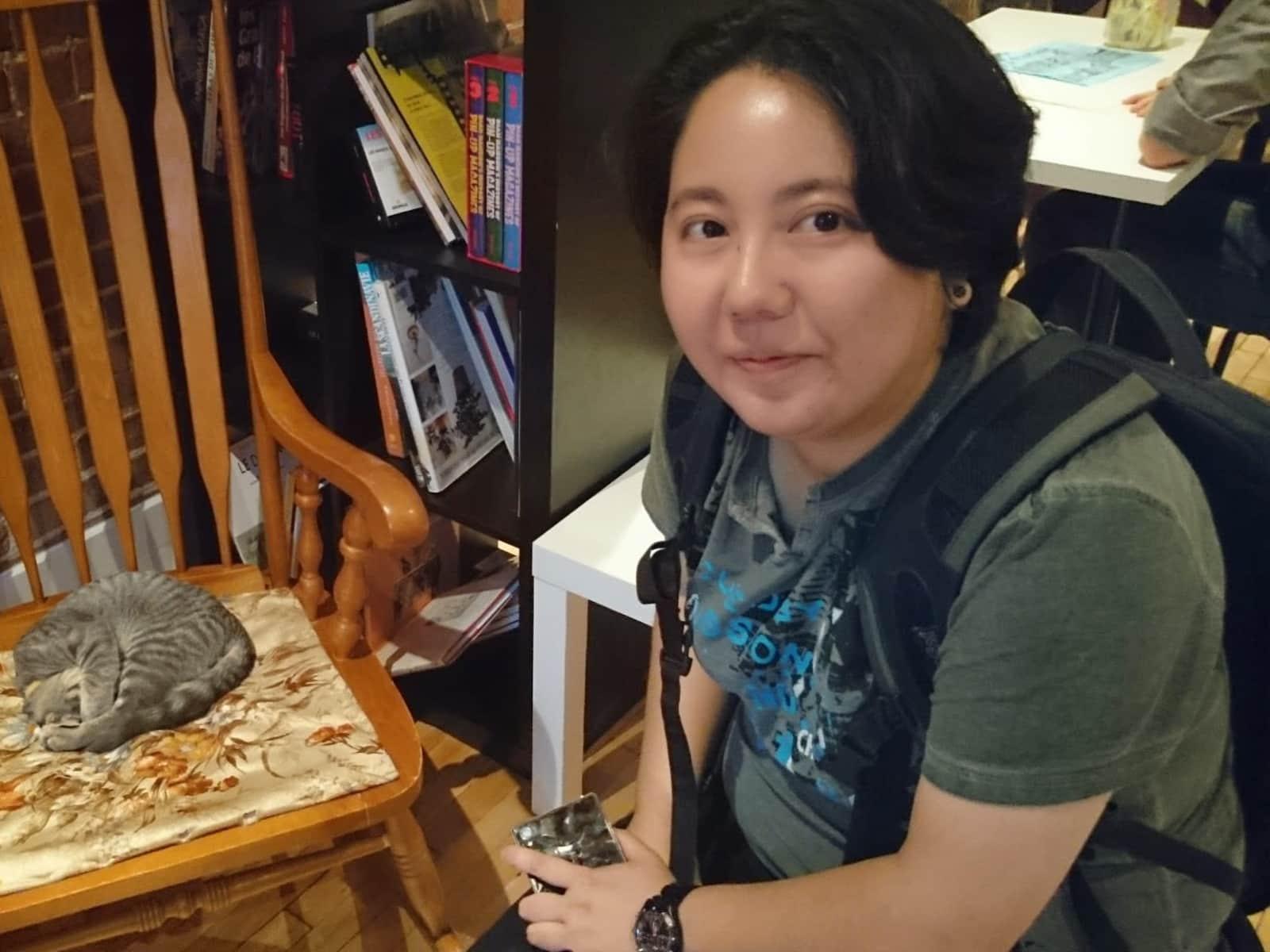 Yumi from Montréal, Quebec, Canada
