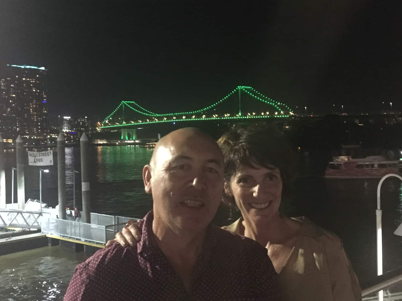 Helen & Barry from Brisbane, Queensland, Australia