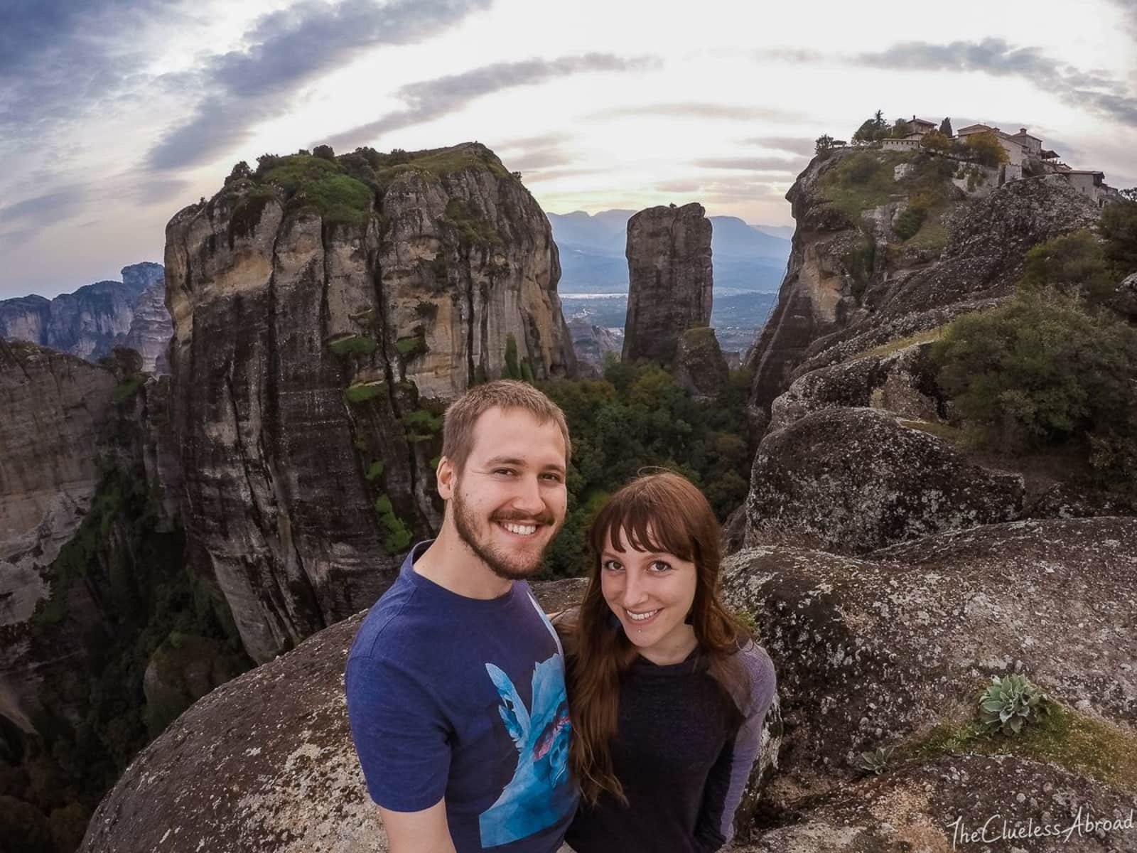 Kasia & Manuel from Switzerland