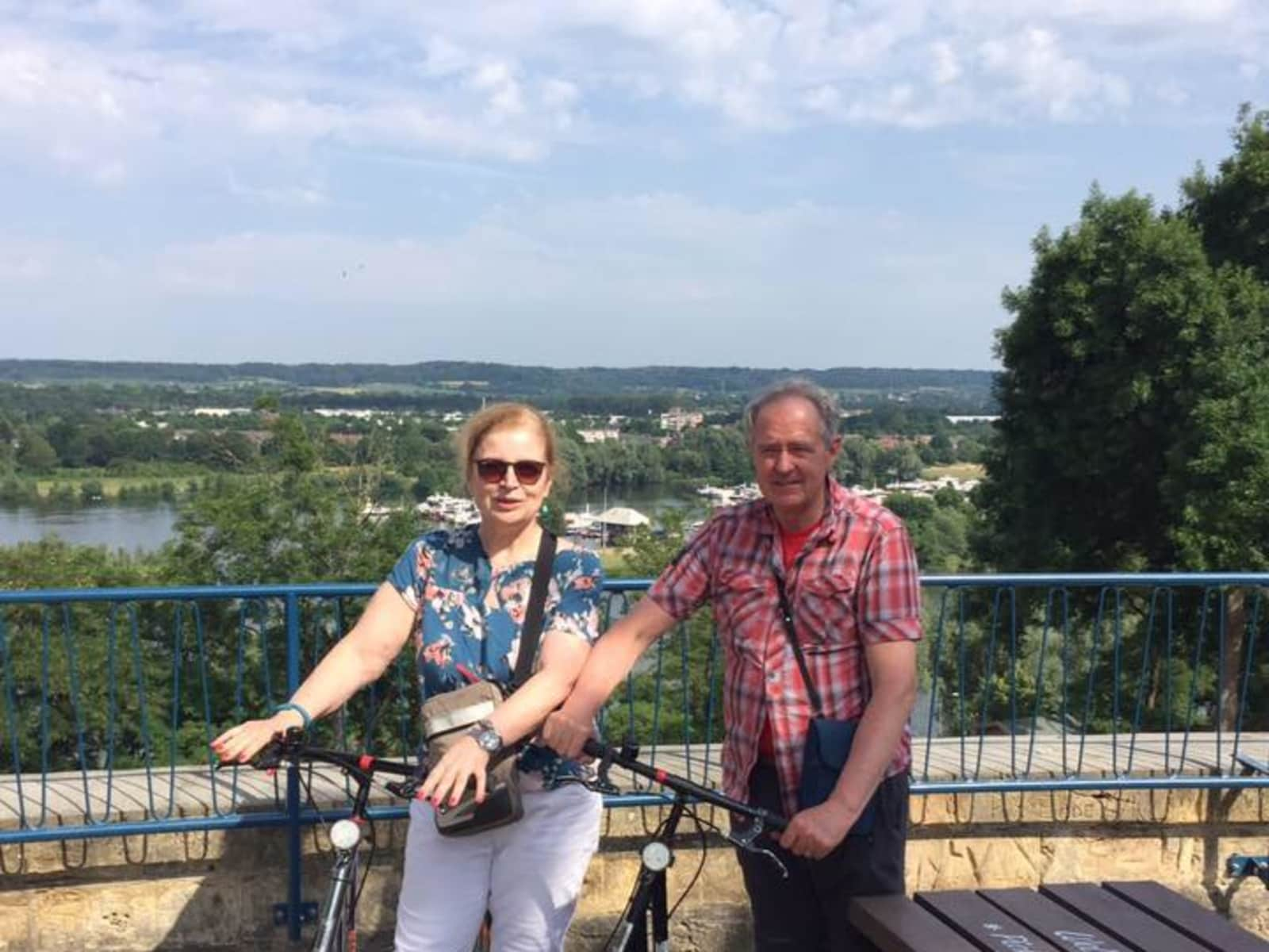 Sheila & Ron from Almere Stad, Netherlands