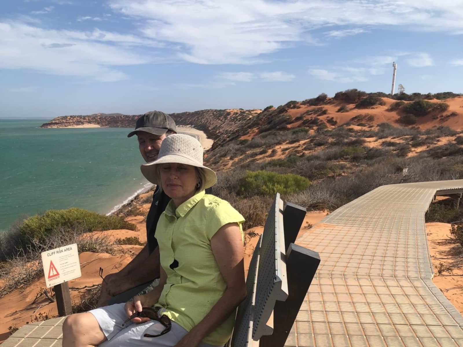 Kelly & Graeme from Albany, Western Australia, Australia