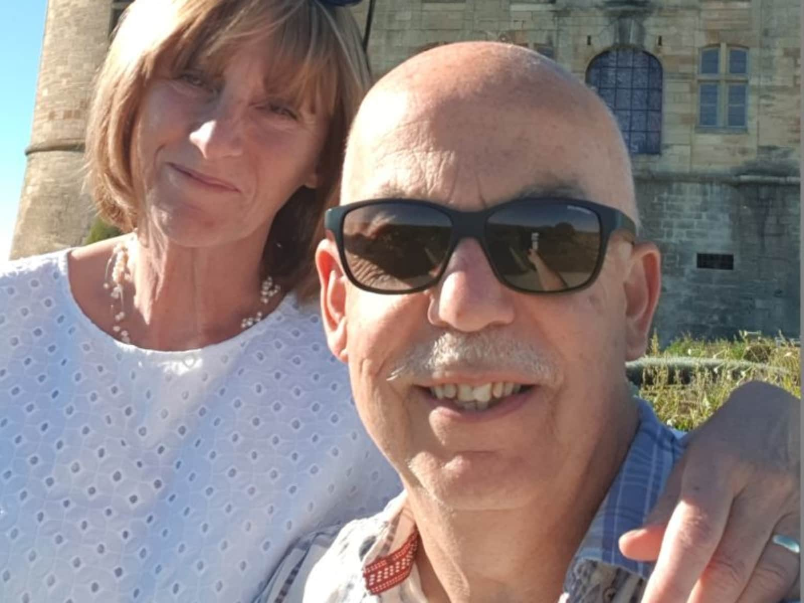Stephen & Nicola from Limoges, France