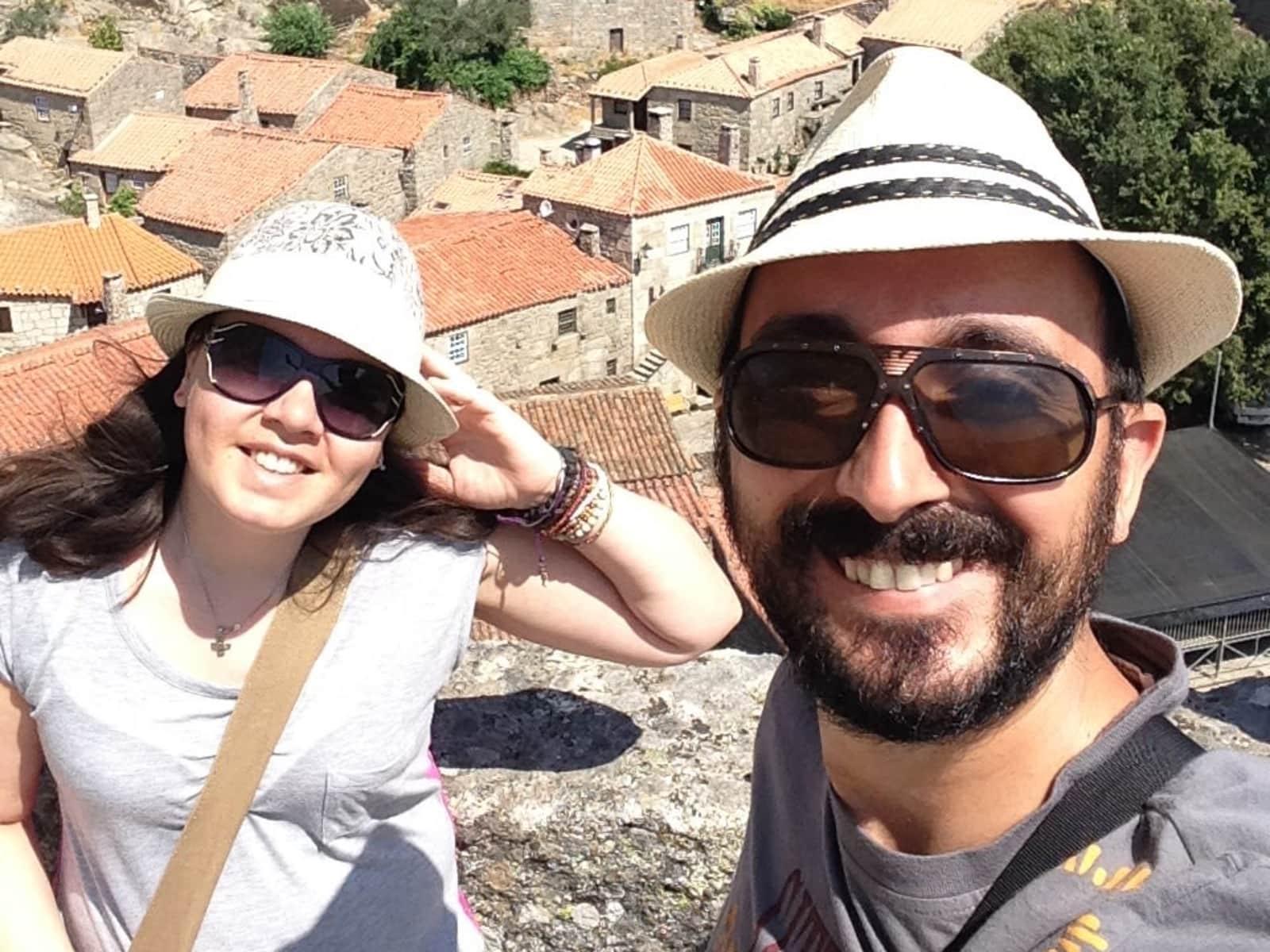 Ana & Duarte from São Roque do Pico, Portugal