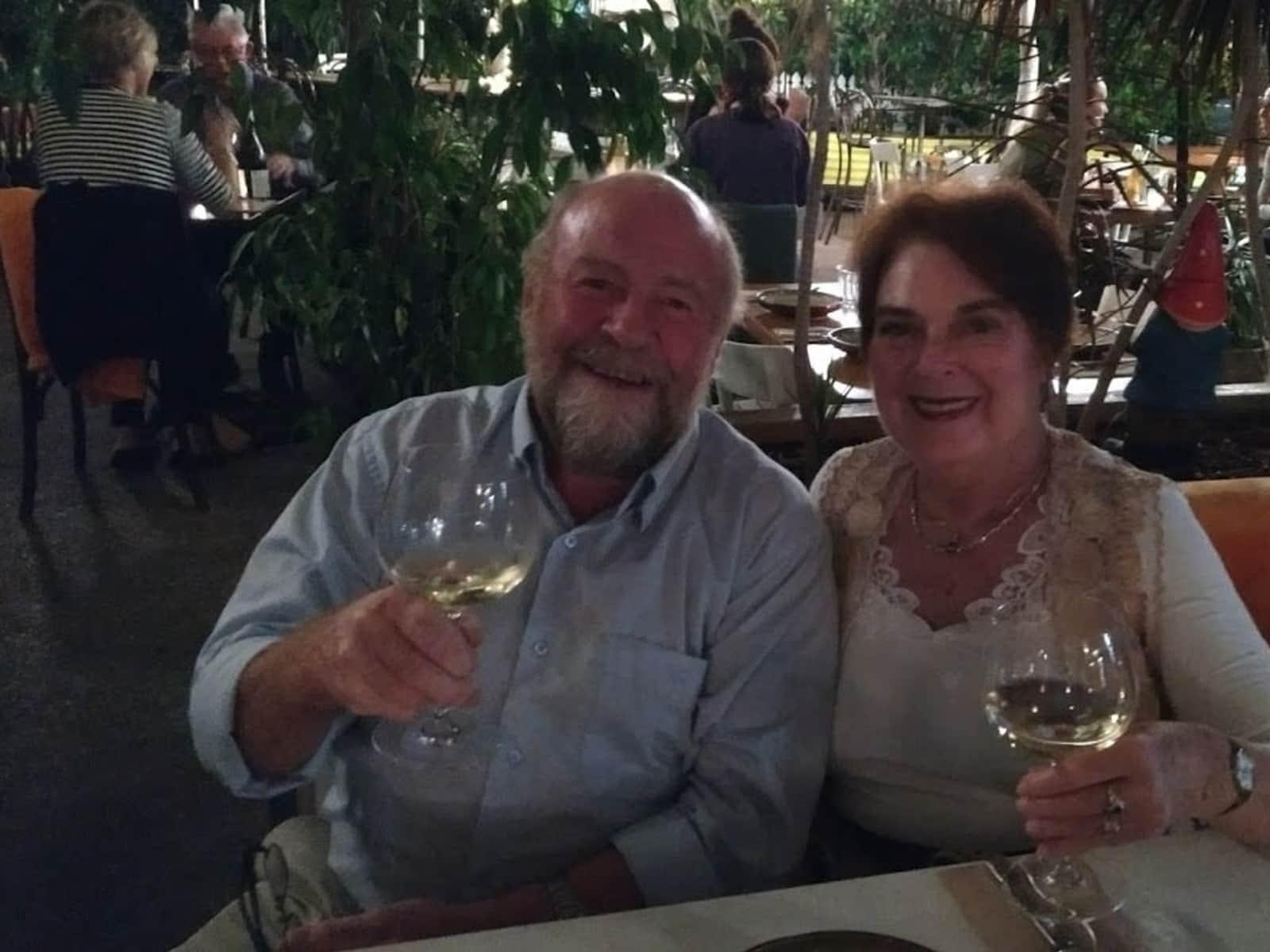 Stuart & Lynne from Brisbane, Queensland, Australia