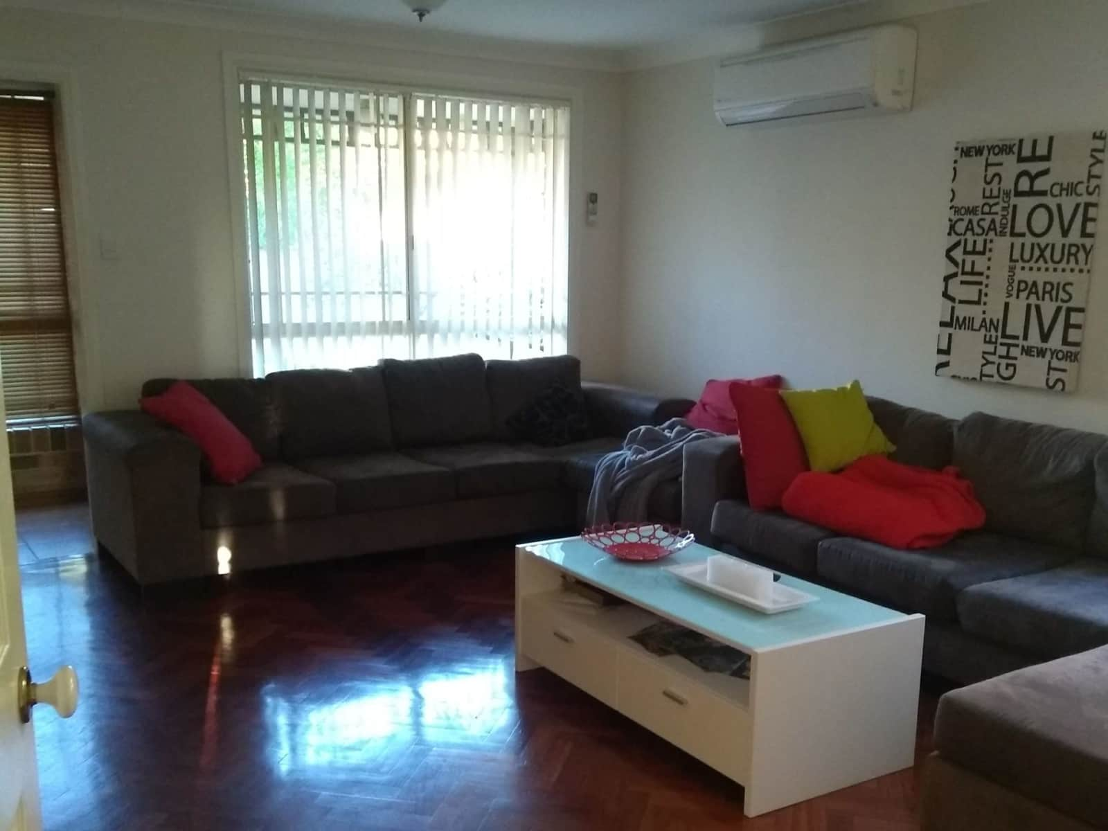 Housesitting assignment in Cherrybrook, New South Wales, Australia