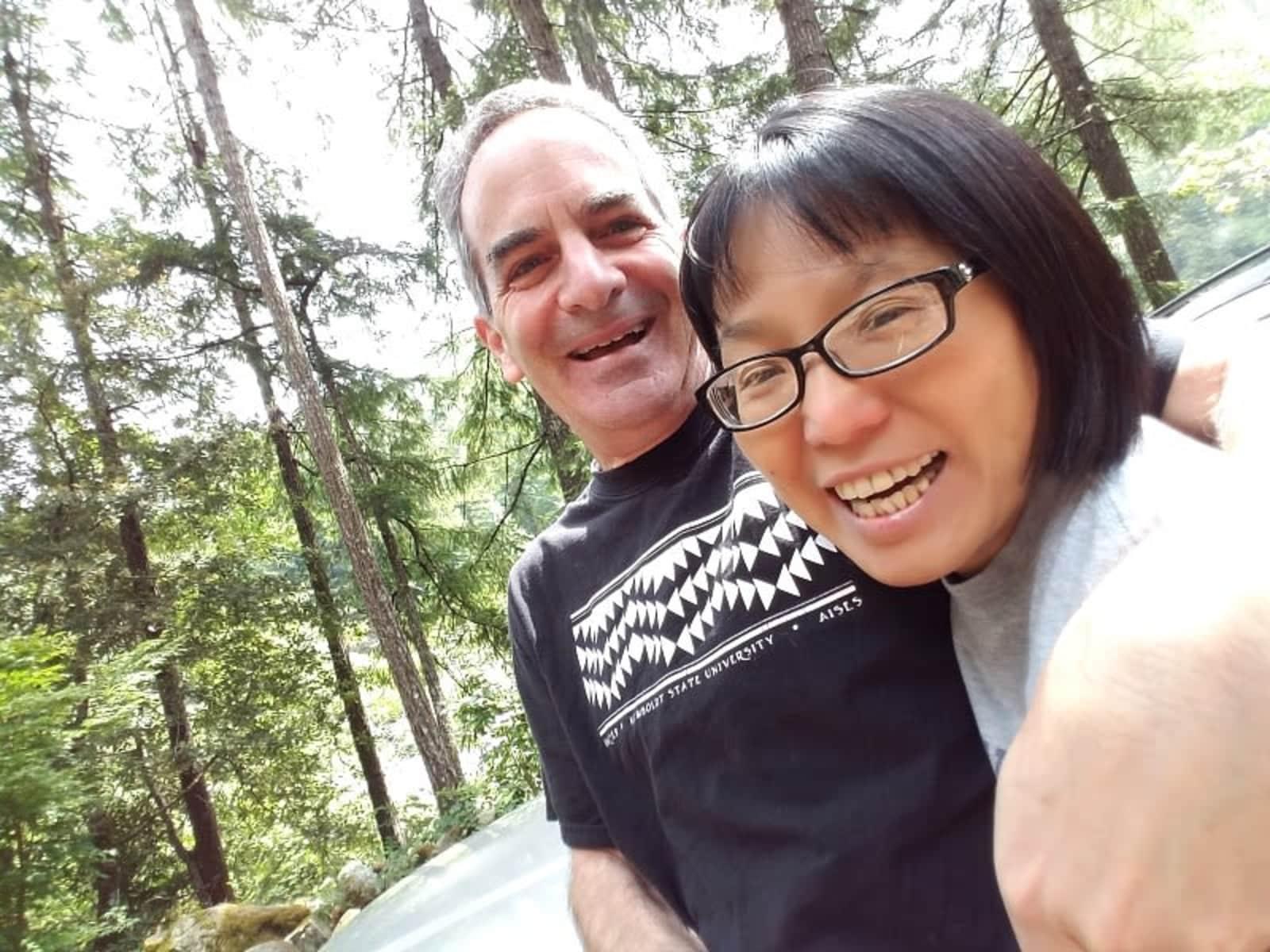Curt & Megumi from Berkeley, California, United States