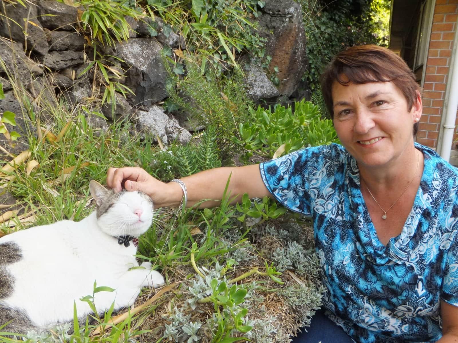 Sandra from Auckland, New Zealand