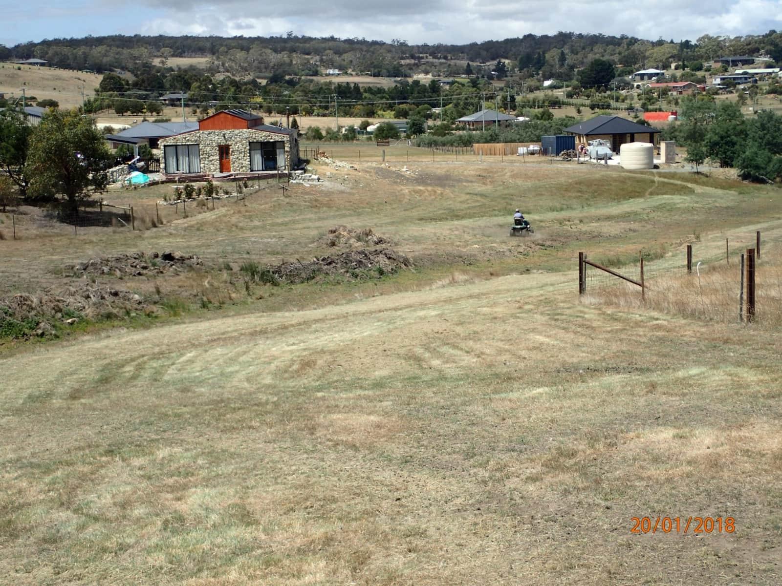 Housesitting assignment in Forcett, Tasmania, Australia