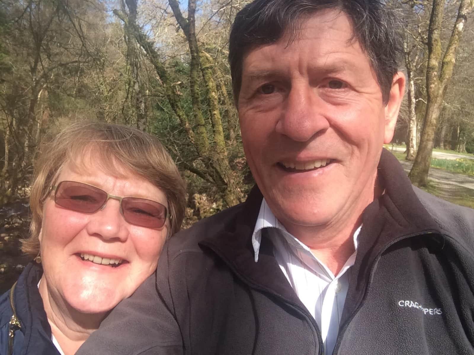 Vivienne & John from Torquay, United Kingdom