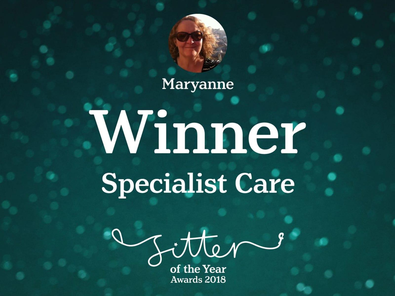 Maryanne from Canterbury, United Kingdom