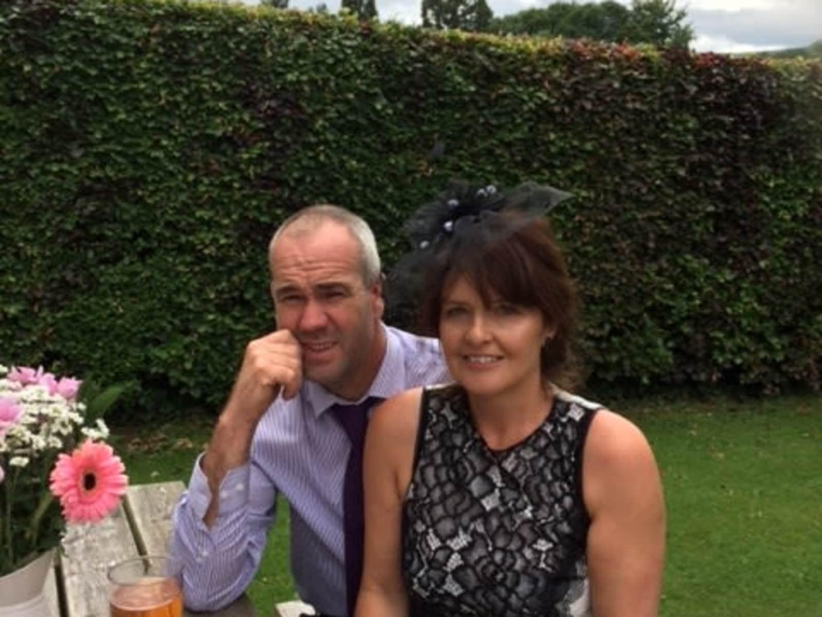 Andrea & Gwyn from Crickhowell, United Kingdom