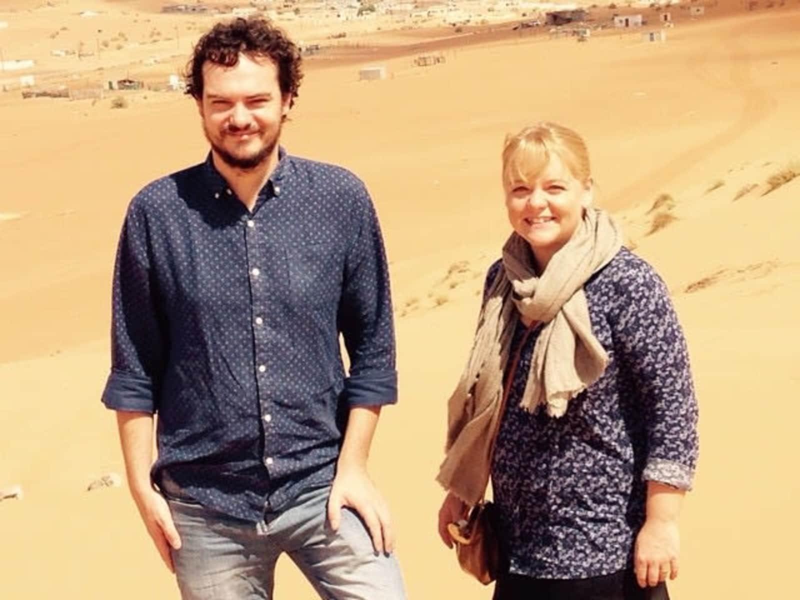 Elizabeth & William from Ibrā', Oman