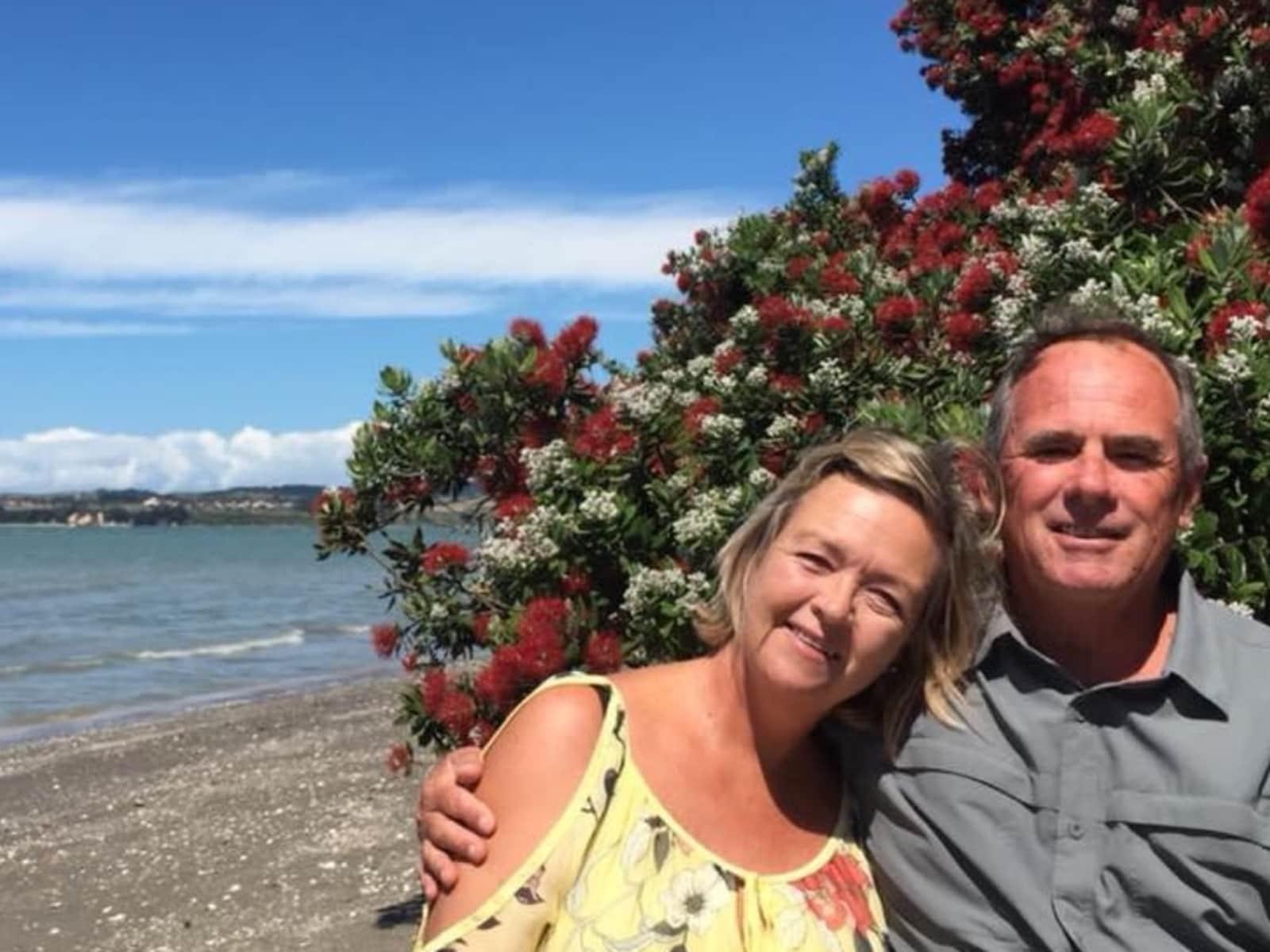 Kerry & John from Whangaparaoa, New Zealand