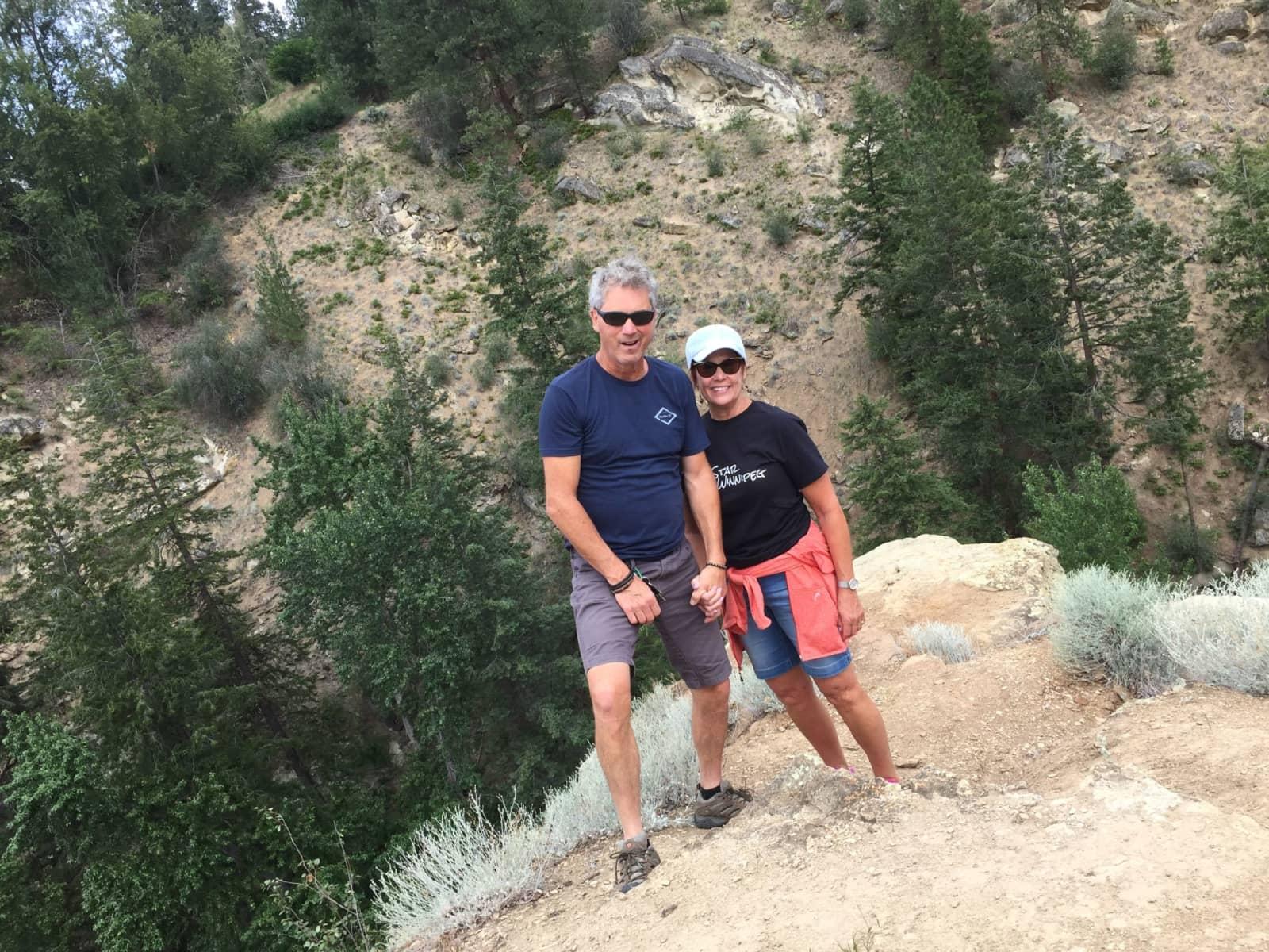 Michelle & Stephen from Kelowna, British Columbia, Canada