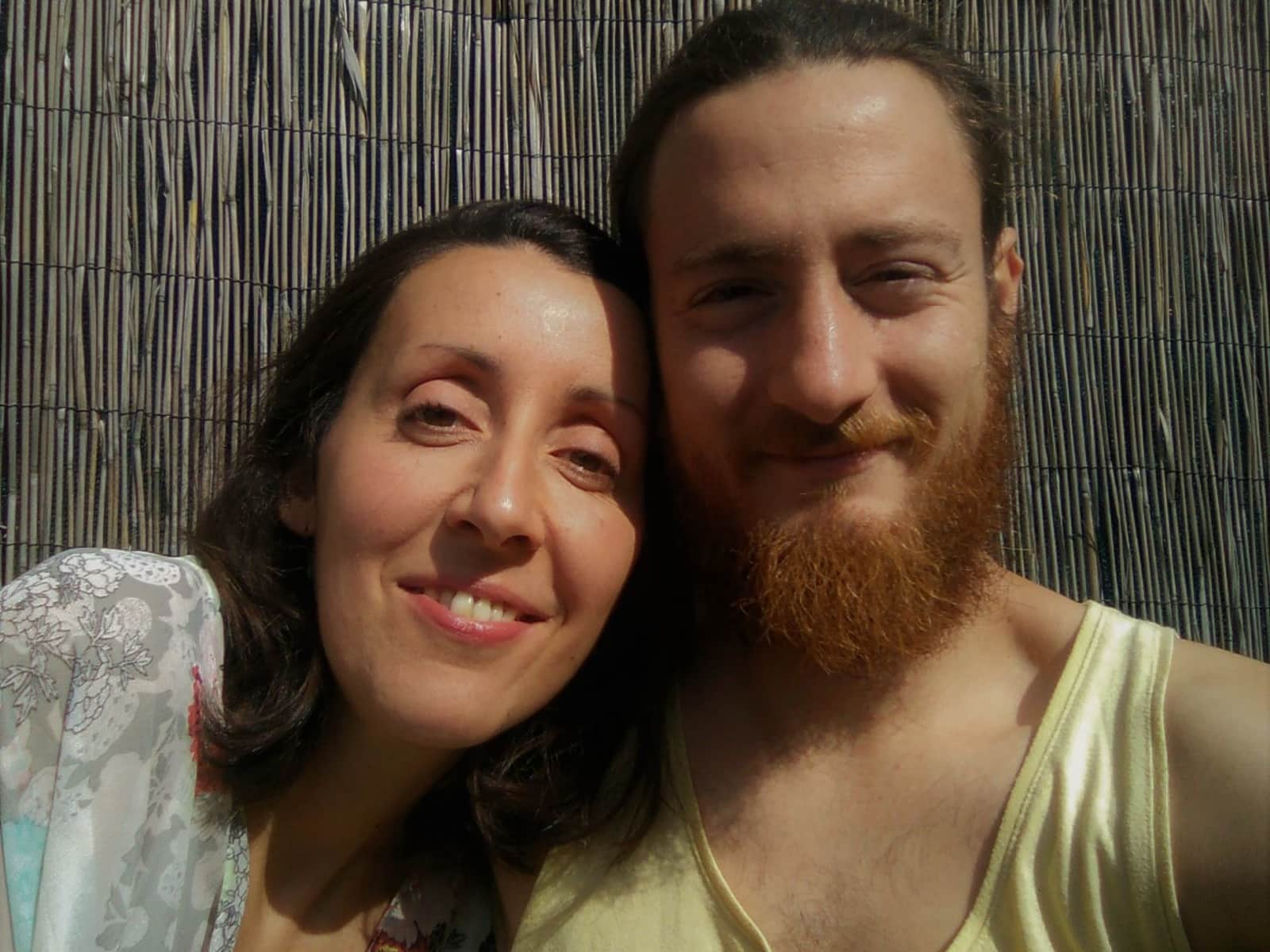 Carol & Gonzalo from Florence, Italy