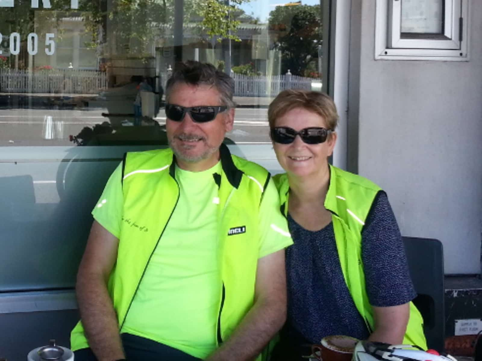 Kay & Phil from Hamilton, New Zealand
