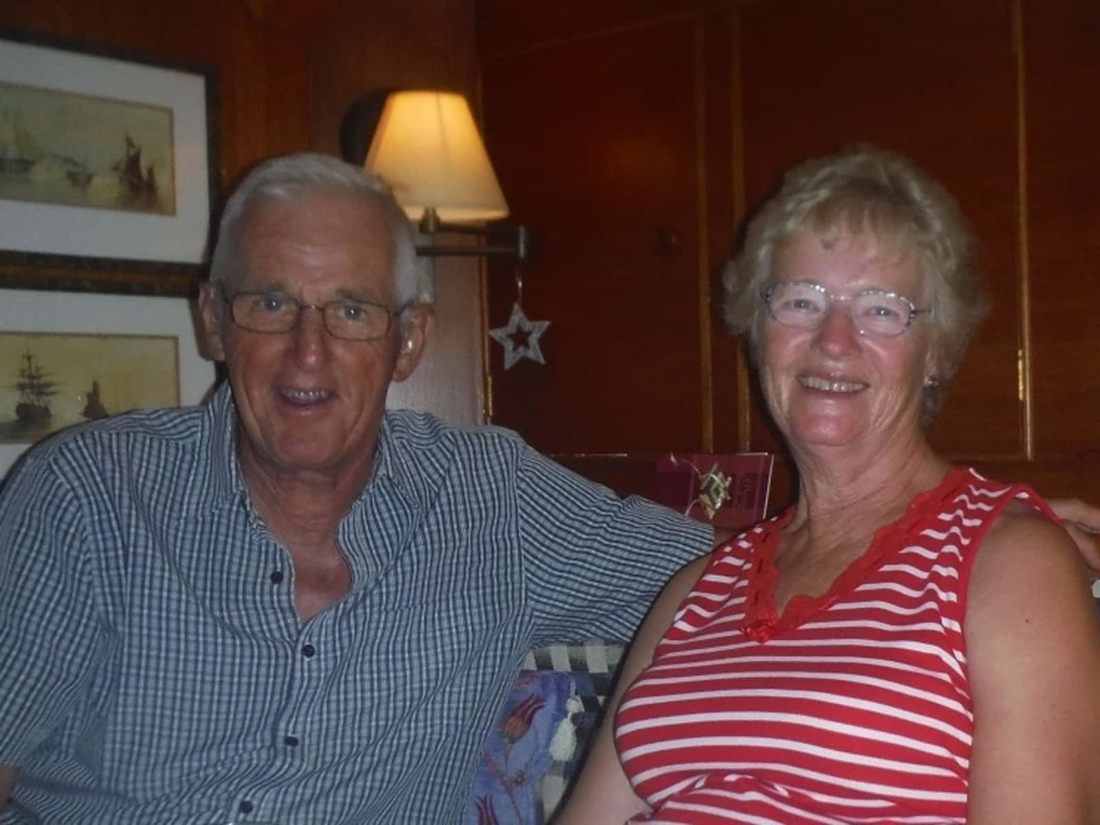Kenneth & Judith from Bexhill-on-Sea, United Kingdom