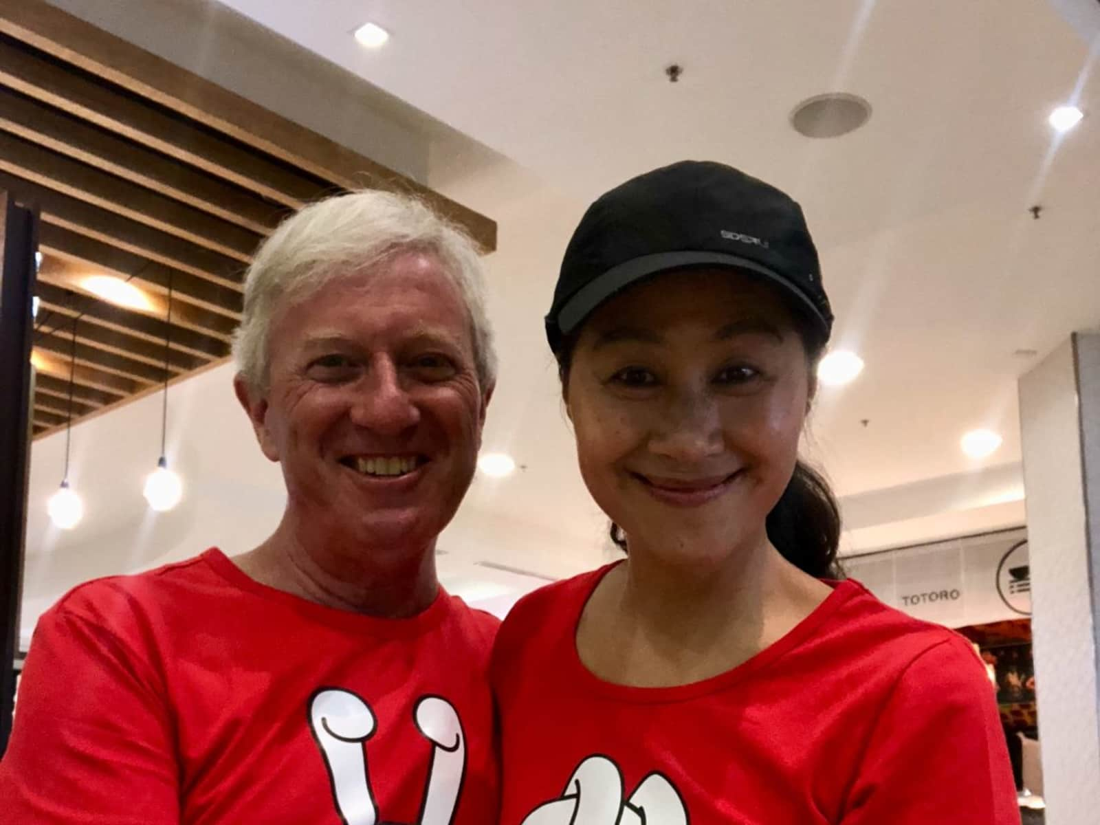 Paul & Ling from Sydney, New South Wales, Australia
