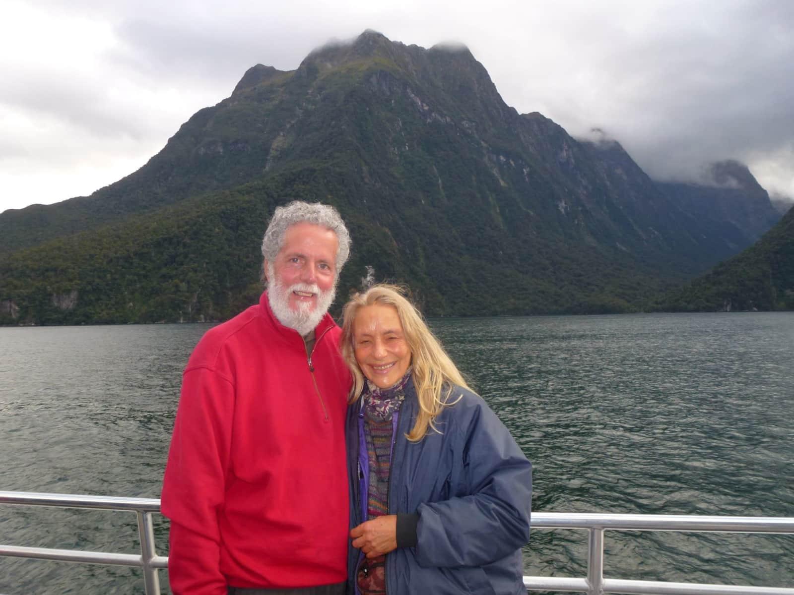 Catherine & Kaj from Mangonui, New Zealand