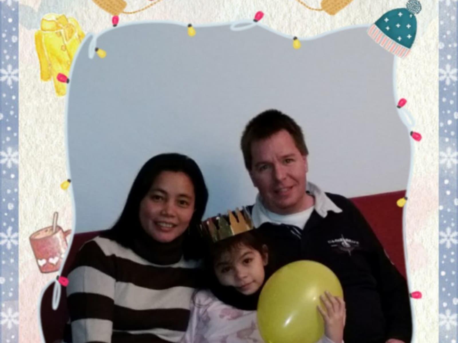 Martin & Johanna from Dumaguete, Philippines